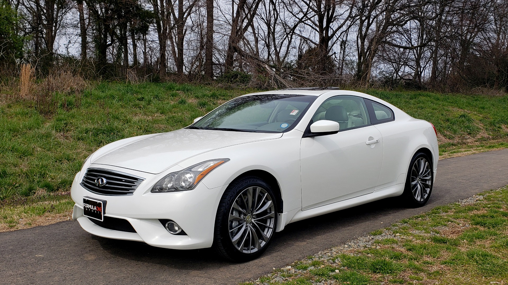 Used 2012 Infiniti G37 Coupe X AWD PREMIUM SPORT PKG / NAV / SUNROOF / REARVIEW for sale Sold at Formula Imports in Charlotte NC 28227 1