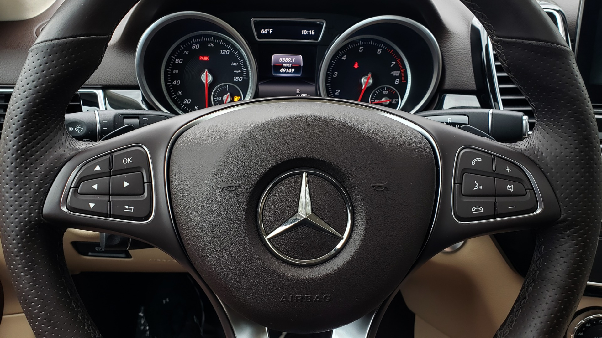 Used 2016 Mercedes-Benz GLE 350 4MATIC / PREMIUM / LIGHTING / NAV / SUNROOF / HTD STS / REAR for sale Sold at Formula Imports in Charlotte NC 28227 38