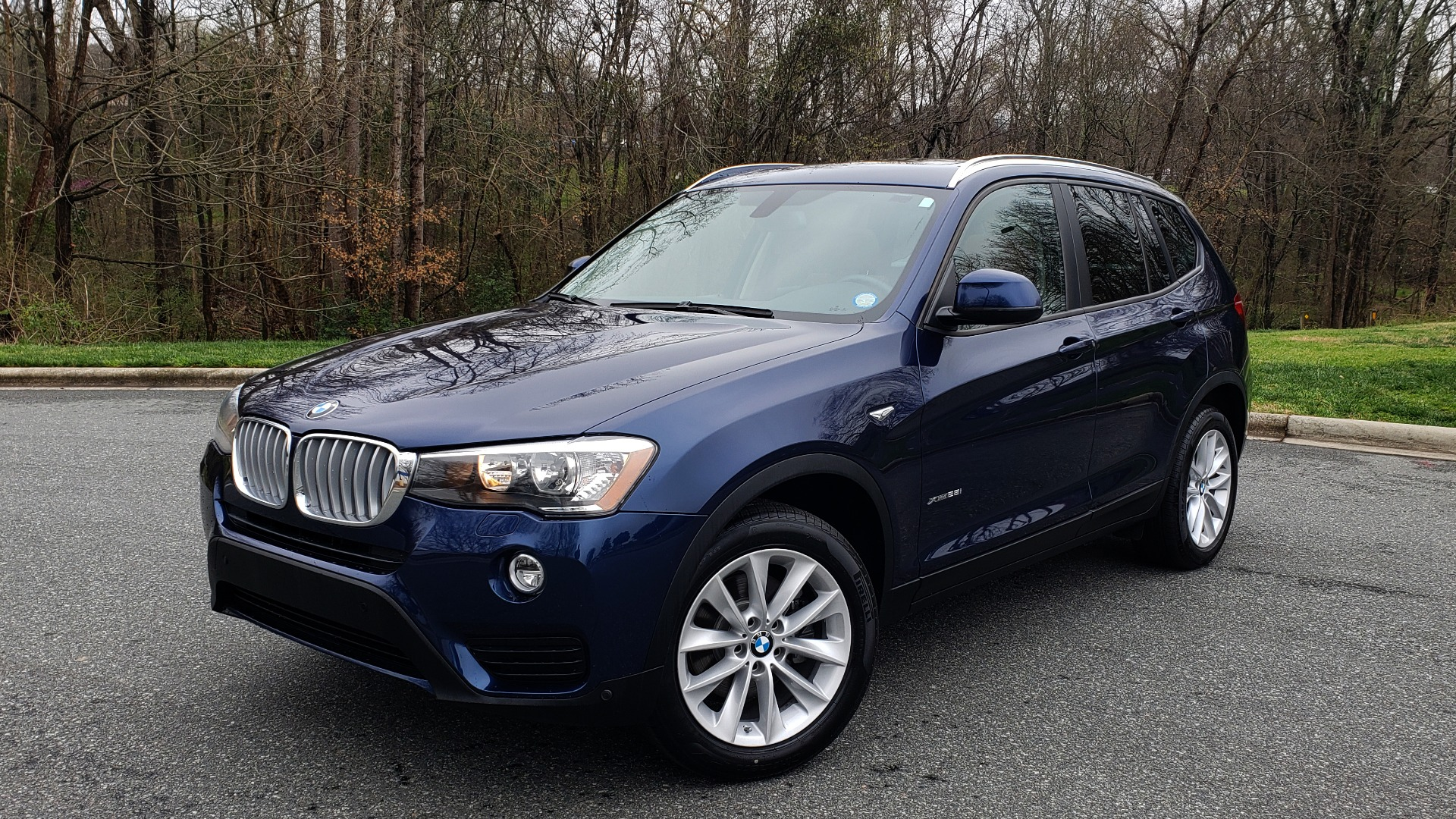 Used 2017 BMW X3 XDRIVE28I PREMIUM / DRVR ASST / CLD WTHR / REARVIEW for sale Sold at Formula Imports in Charlotte NC 28227 1