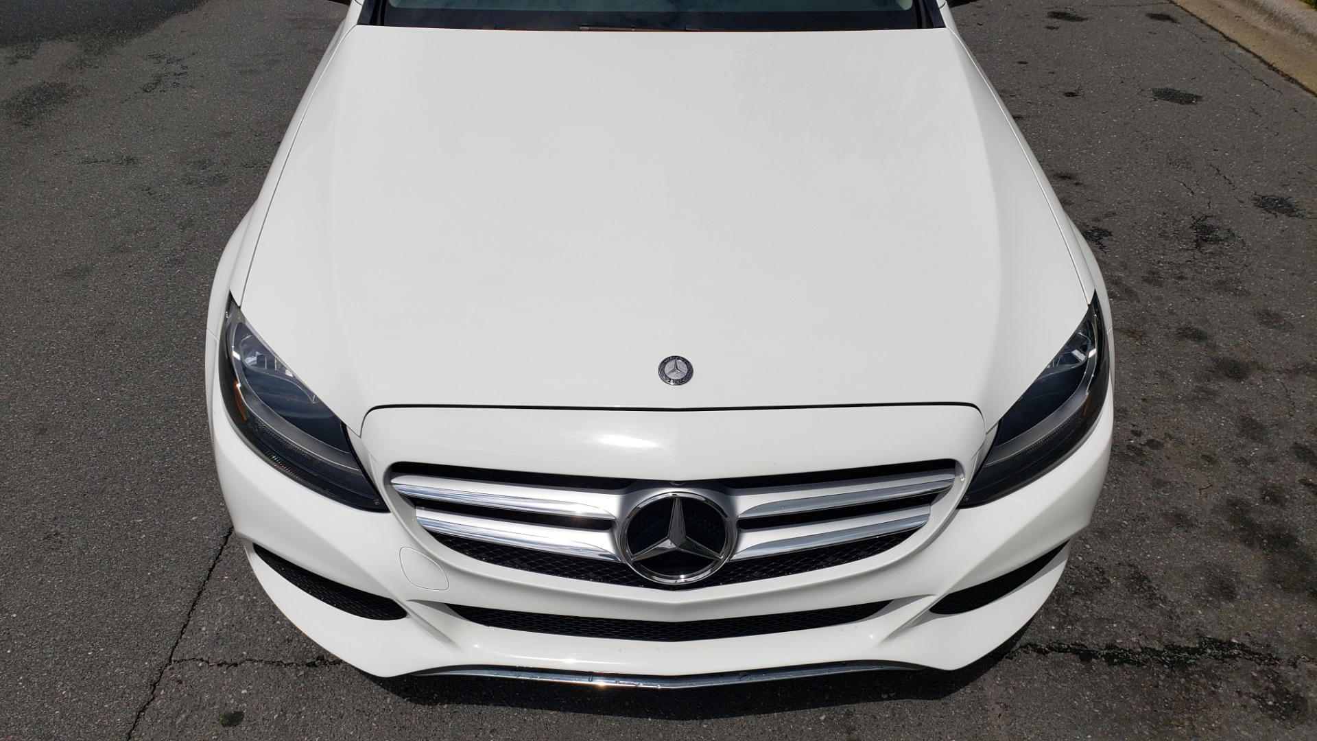 Used 2017 Mercedes-Benz C-Class C 300 PREMIUM / NAV / PANO-ROOF / HTD STS / REARVIEW for sale Sold at Formula Imports in Charlotte NC 28227 12
