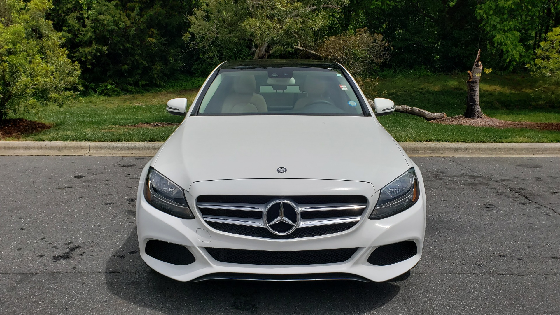 Used 2017 Mercedes-Benz C-Class C 300 PREMIUM / NAV / PANO-ROOF / HTD STS / REARVIEW for sale Sold at Formula Imports in Charlotte NC 28227 17