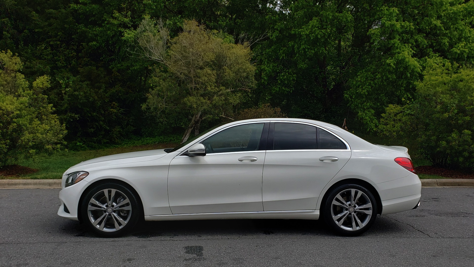 Used 2017 Mercedes-Benz C-Class C 300 PREMIUM / NAV / PANO-ROOF / HTD STS / REARVIEW for sale Sold at Formula Imports in Charlotte NC 28227 2