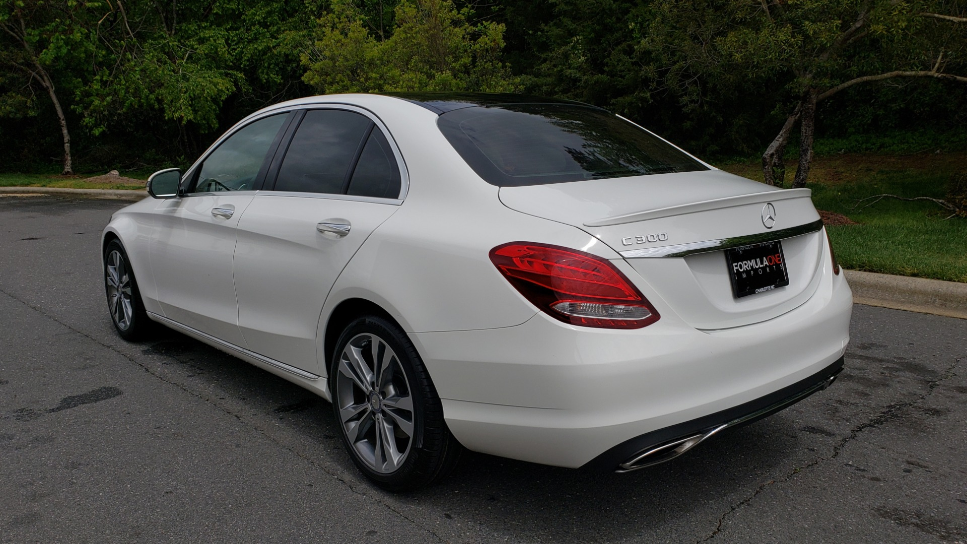 Used 2017 Mercedes-Benz C-Class C 300 PREMIUM / NAV / PANO-ROOF / HTD STS / REARVIEW for sale Sold at Formula Imports in Charlotte NC 28227 3