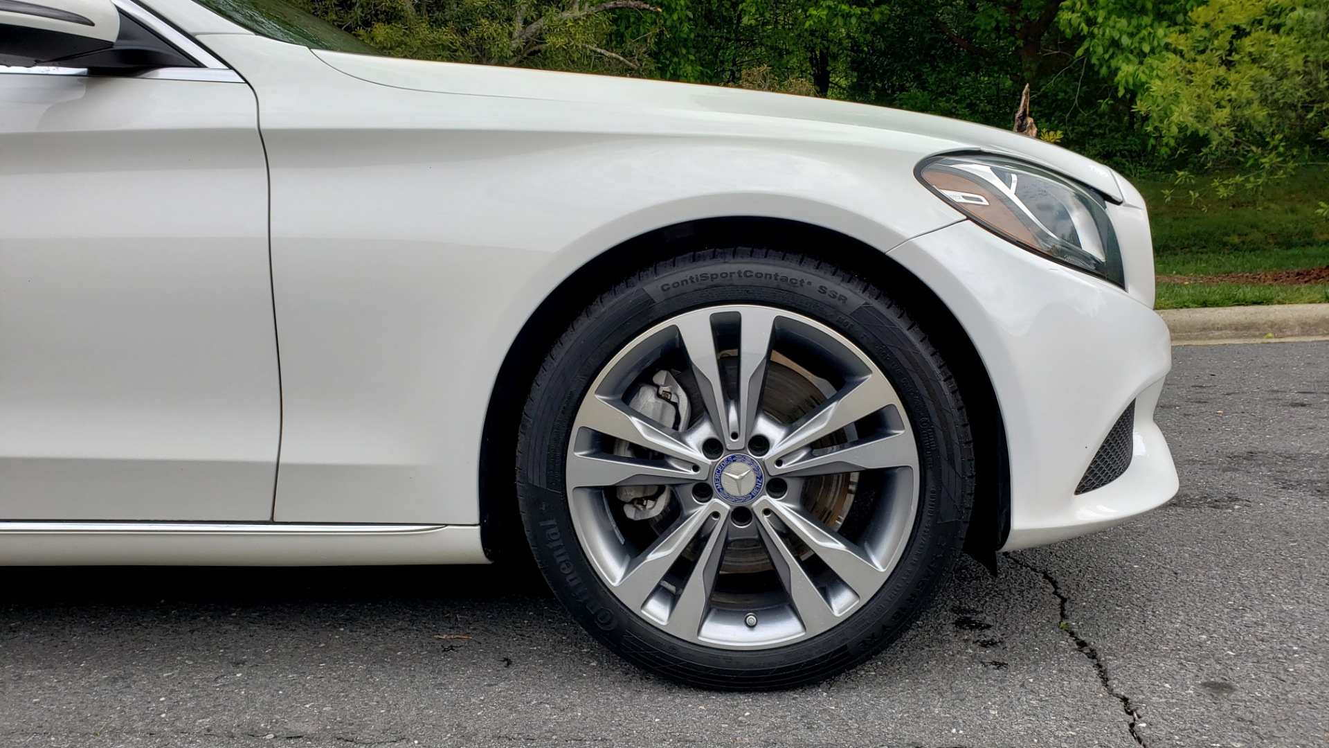 Used 2017 Mercedes-Benz C-Class C 300 PREMIUM / NAV / PANO-ROOF / HTD STS / REARVIEW for sale Sold at Formula Imports in Charlotte NC 28227 74