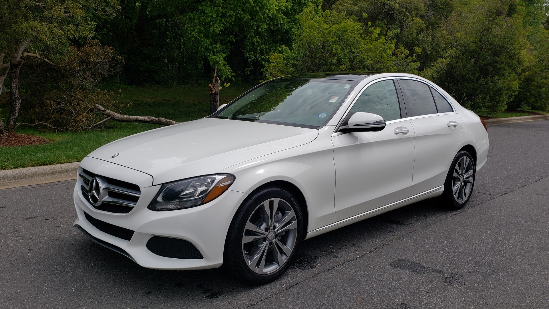Used 2017 Mercedes-Benz C-Class C 300 PREMIUM / NAV / PANO-ROOF / HTD STS / REARVIEW for sale Sold at Formula Imports in Charlotte NC 28227 1