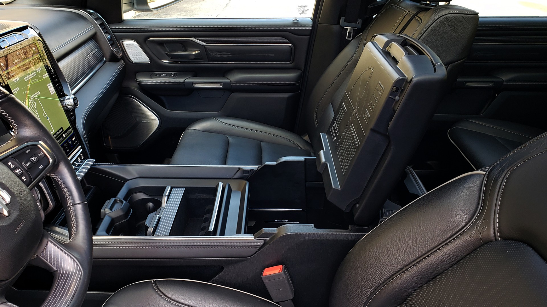 Used 2020 Ram 1500 LIMITED 4X4 / NAV / PANO-ROOF / PARK ASST / REARVIEW / HK SND for sale Sold at Formula Imports in Charlotte NC 28227 64