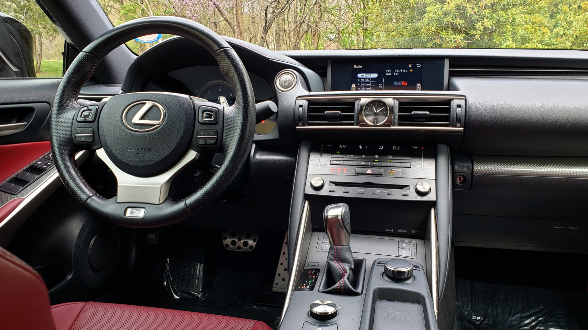 Used 2017 Lexus IS 200T F-SPORT / SUNROOF / REARVIEW / VENT SEATS for sale Sold at Formula Imports in Charlotte NC 28227 73