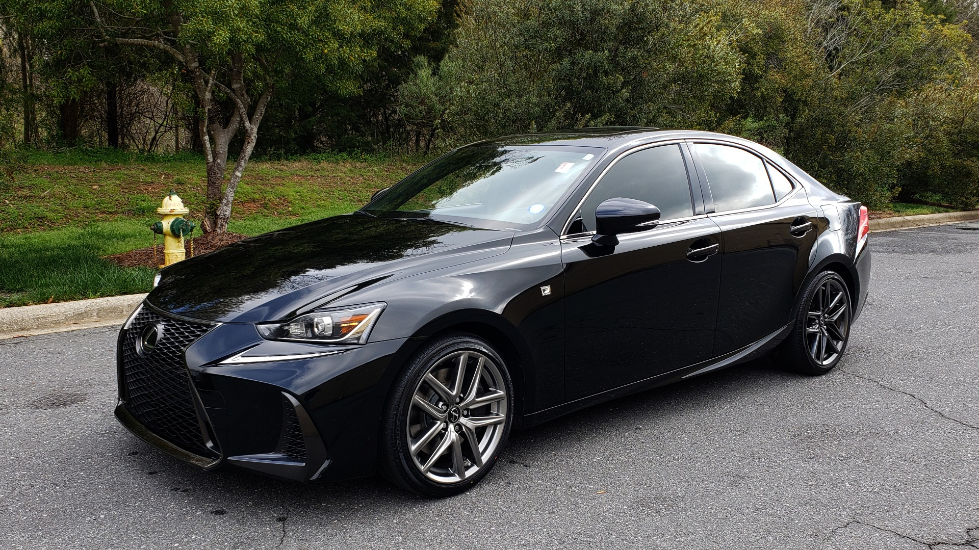 Used 2017 Lexus IS 200T F-SPORT / SUNROOF / REARVIEW / VENT SEATS for sale Sold at Formula Imports in Charlotte NC 28227 1