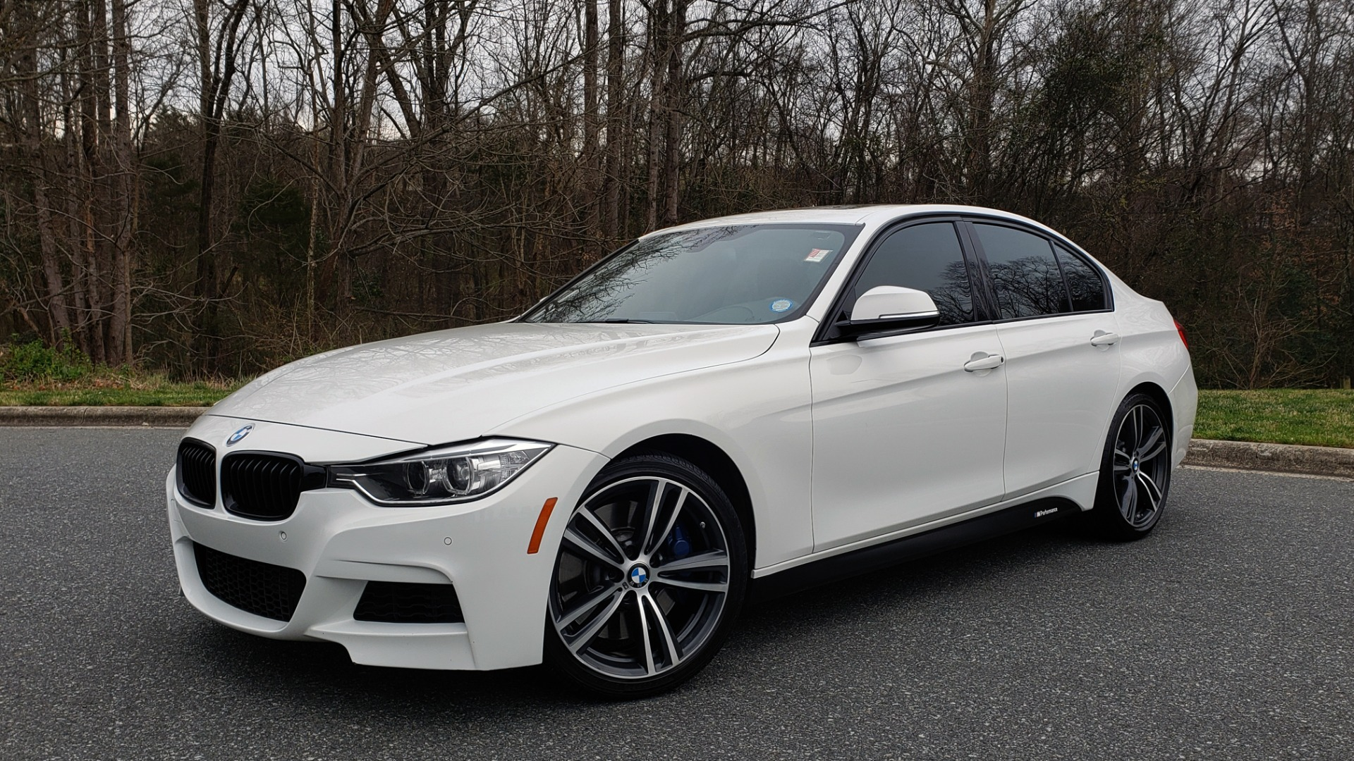 Used 2015 BMW 3 Series 335I M-SPORT / PREM PKG / HK SND / SUNROOF / REARVIEW for sale Sold at Formula Imports in Charlotte NC 28227 1