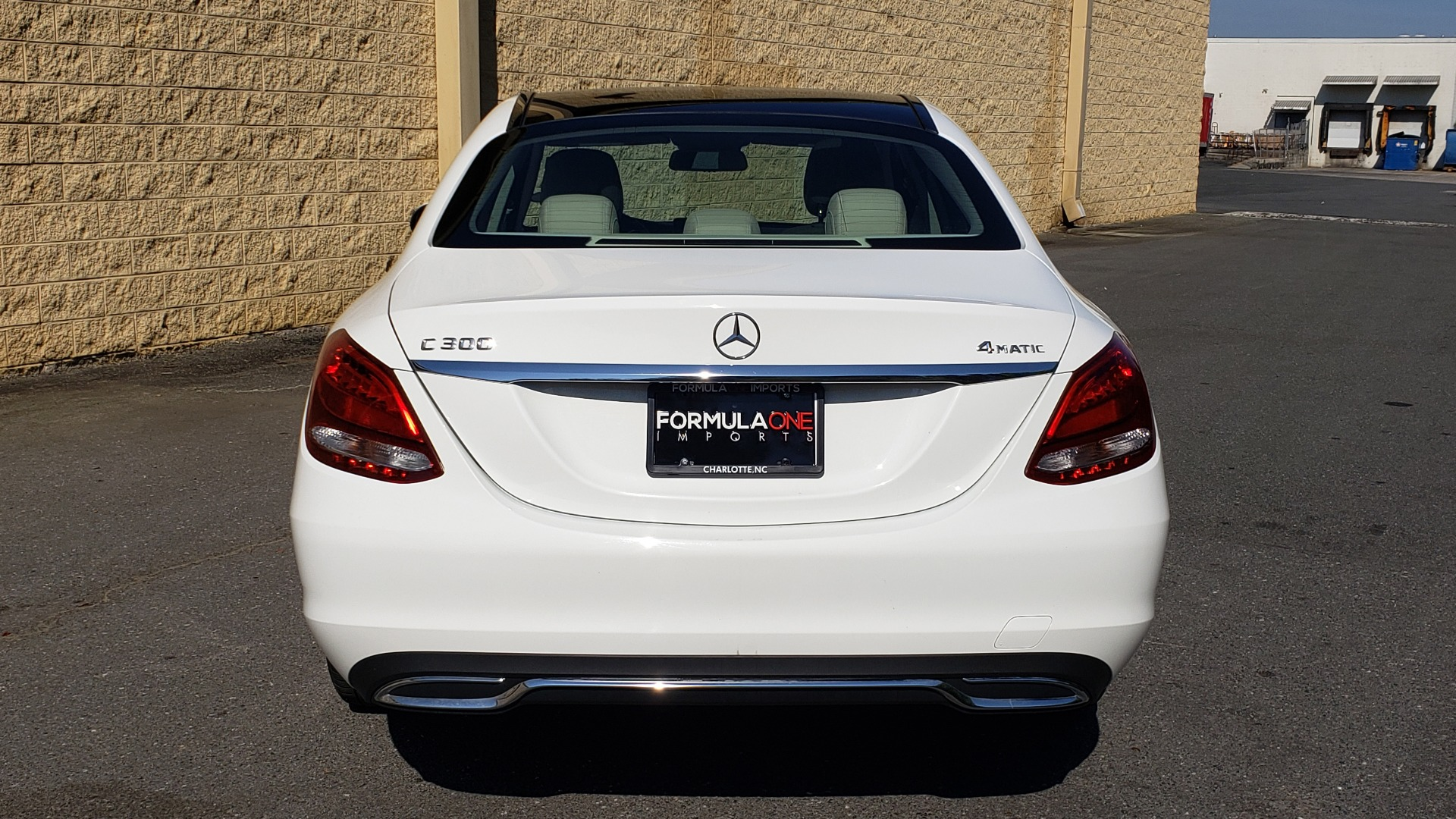 Used 2016 Mercedes-Benz C-Class C 300 LUXURY / NAV / PANO-ROOF / REARVIEW / BSM / HTD STS for sale Sold at Formula Imports in Charlotte NC 28227 20