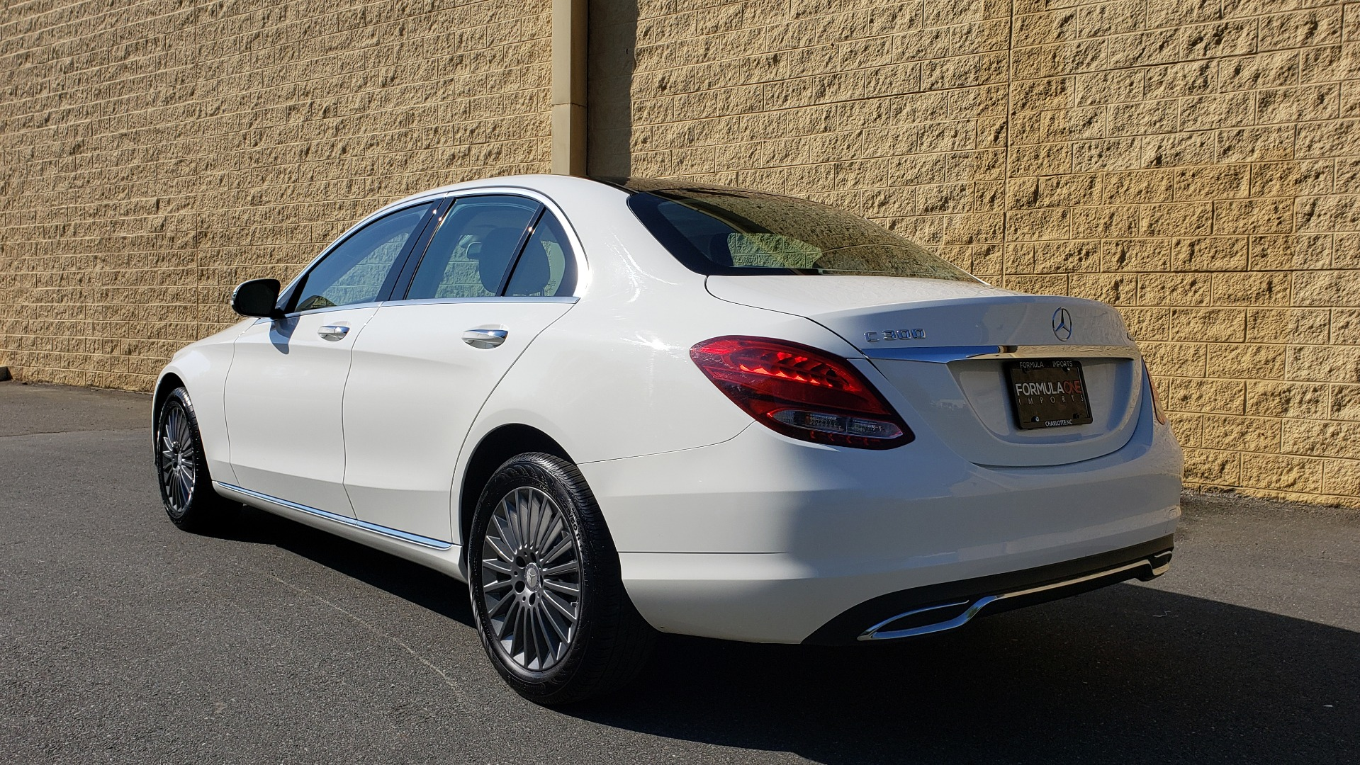 Used 2016 Mercedes-Benz C-Class C 300 LUXURY / NAV / PANO-ROOF / REARVIEW / BSM / HTD STS for sale Sold at Formula Imports in Charlotte NC 28227 3