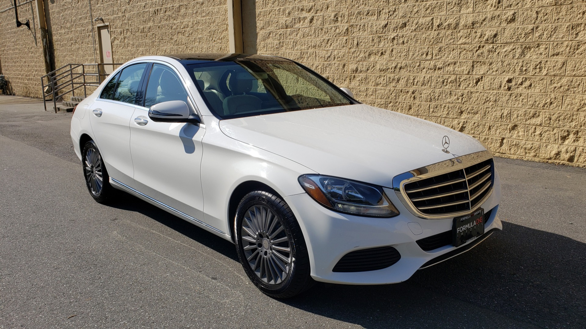 Used 2016 Mercedes-Benz C-Class C 300 LUXURY / NAV / PANO-ROOF / REARVIEW / BSM / HTD STS for sale Sold at Formula Imports in Charlotte NC 28227 4