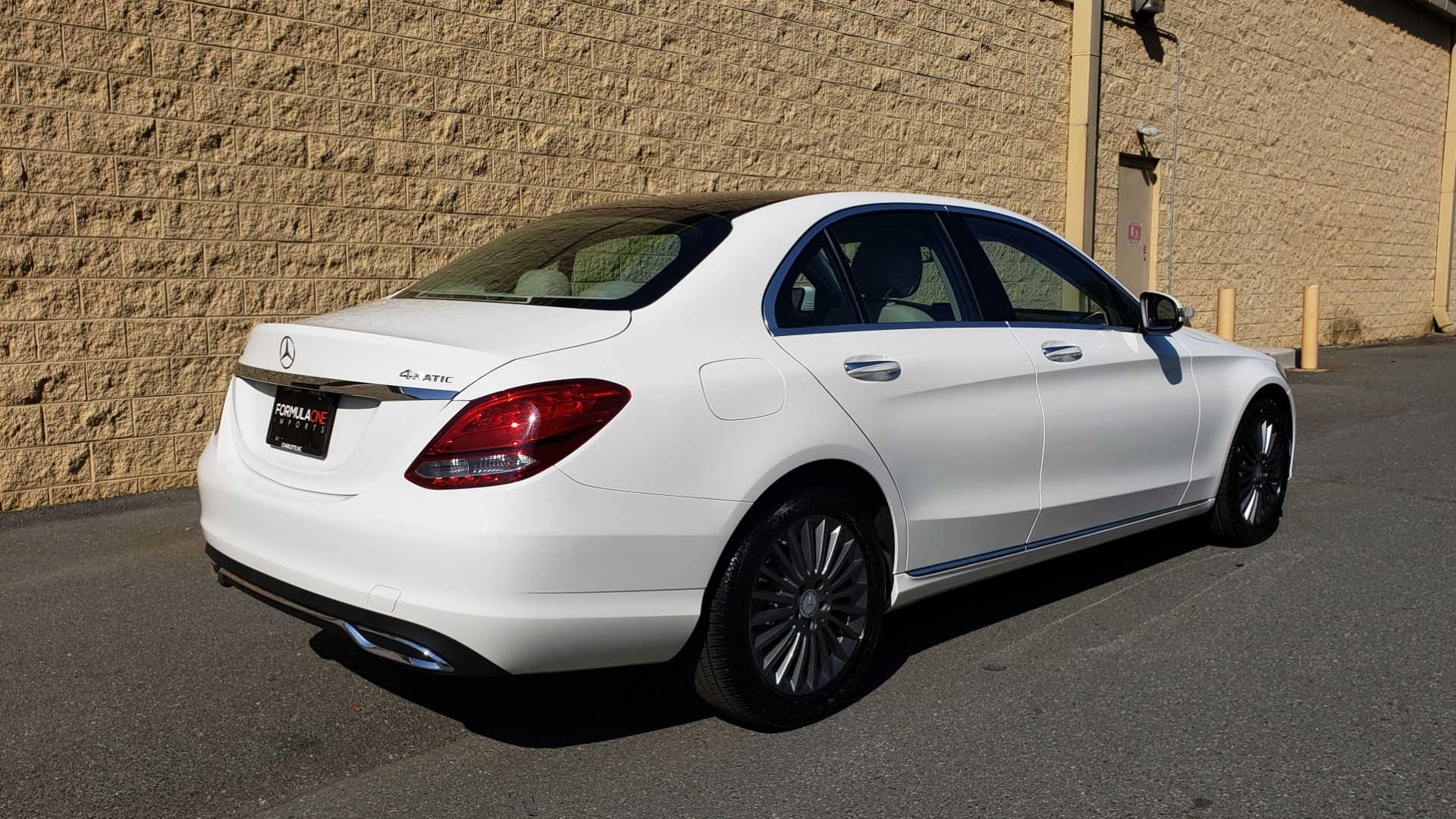 Used 2016 Mercedes-Benz C-Class C 300 LUXURY / NAV / PANO-ROOF / REARVIEW / BSM / HTD STS for sale Sold at Formula Imports in Charlotte NC 28227 6