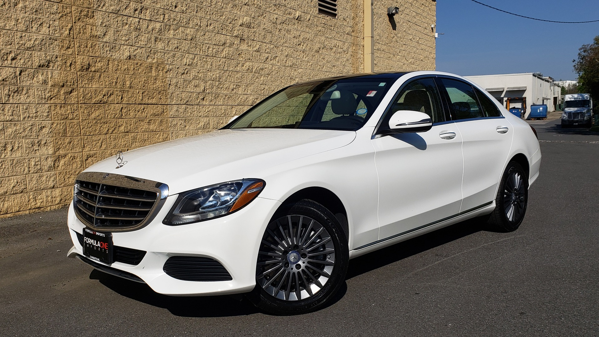 Used 2016 Mercedes-Benz C-Class C 300 LUXURY / NAV / PANO-ROOF / REARVIEW / BSM / HTD STS for sale Sold at Formula Imports in Charlotte NC 28227 1