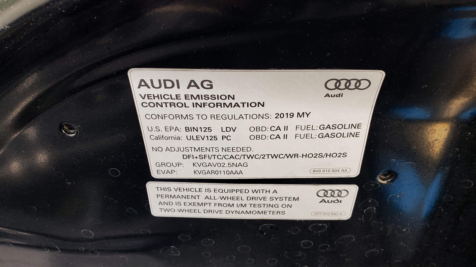 Used 2019 Audi TT RS for sale Sold at Formula Imports in Charlotte NC 28227 44