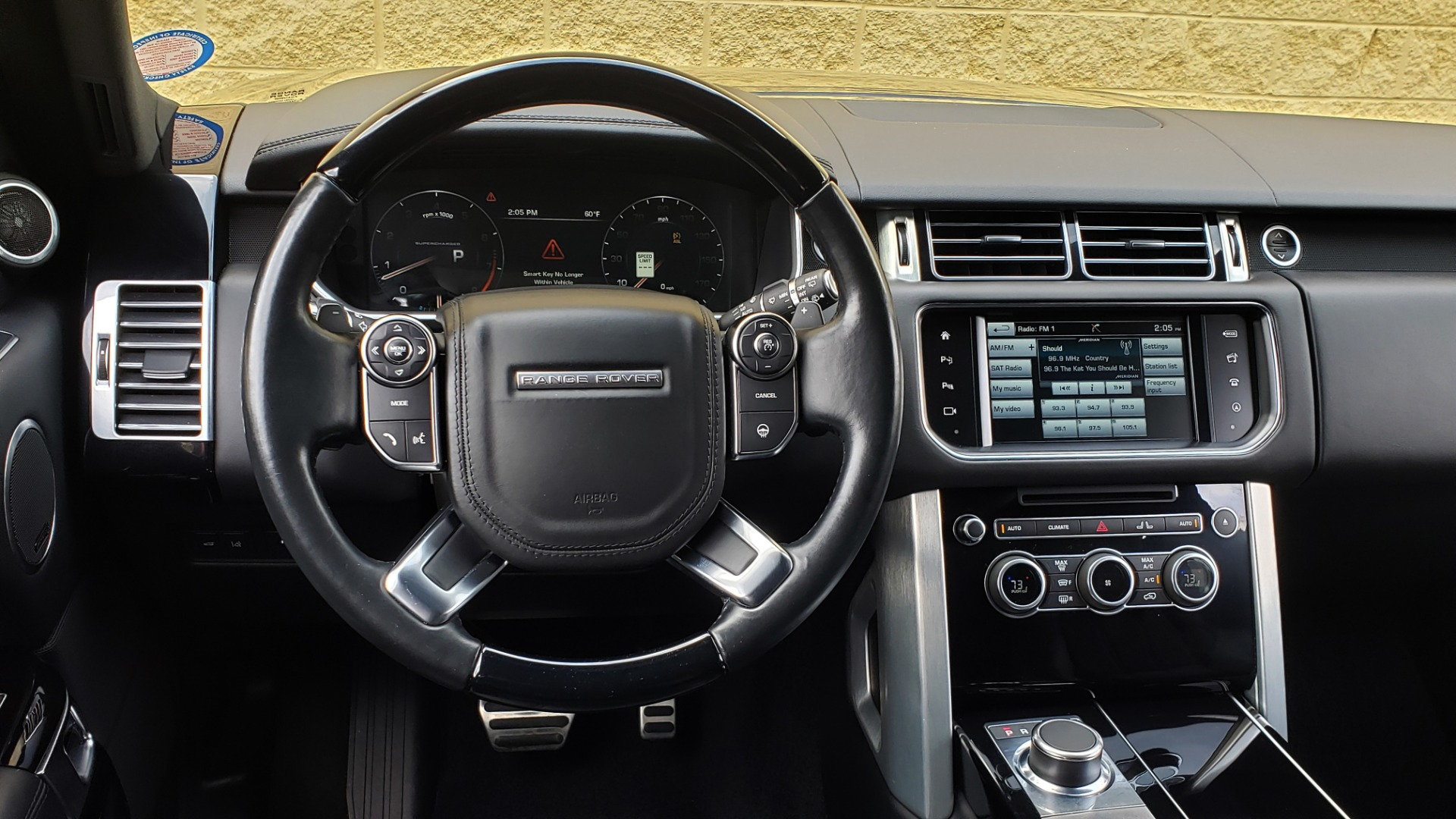Used 2016 Land Rover RANGE ROVER SUPERCHARGED V8 / NAV / PANO-ROOF / REARVIEW for sale Sold at Formula Imports in Charlotte NC 28227 44