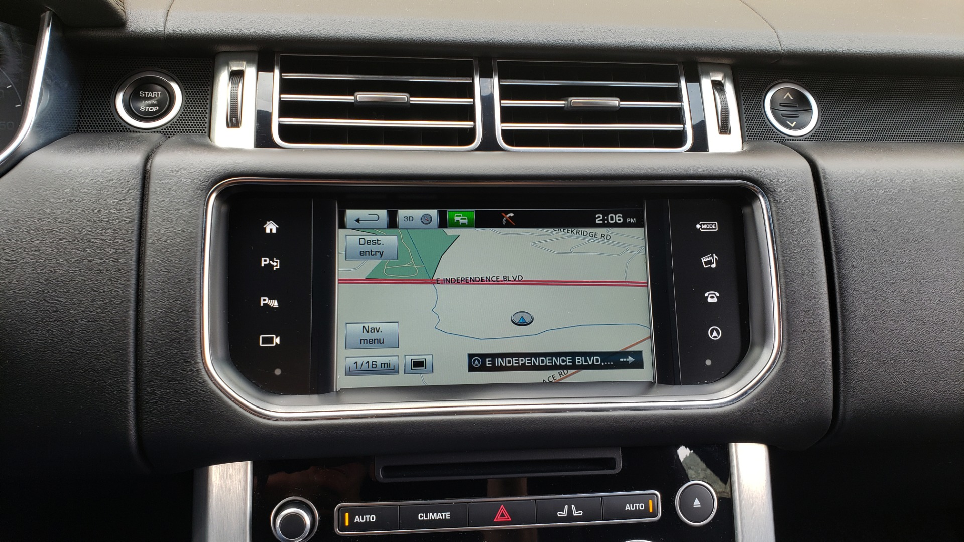 Used 2016 Land Rover RANGE ROVER SUPERCHARGED V8 / NAV / PANO-ROOF / REARVIEW for sale Sold at Formula Imports in Charlotte NC 28227 52
