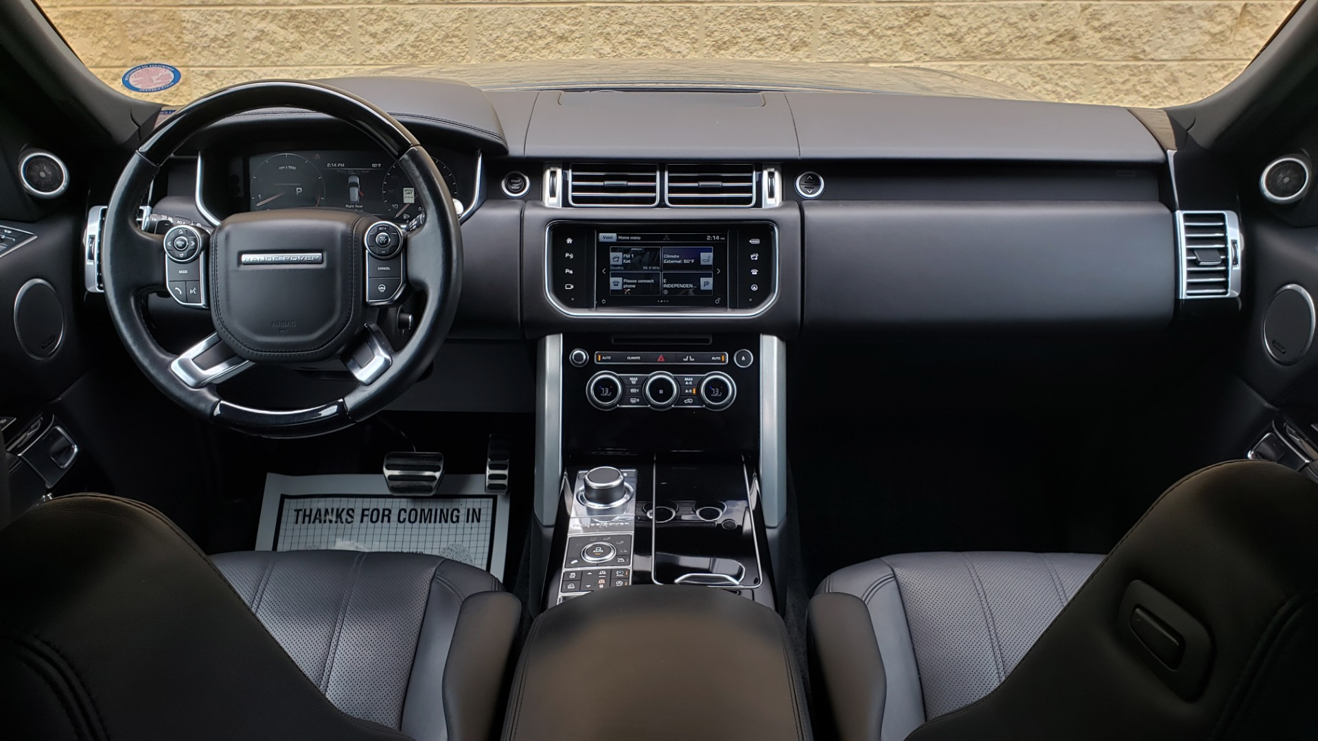 Used 2016 Land Rover RANGE ROVER SUPERCHARGED V8 / NAV / PANO-ROOF / REARVIEW for sale Sold at Formula Imports in Charlotte NC 28227 85