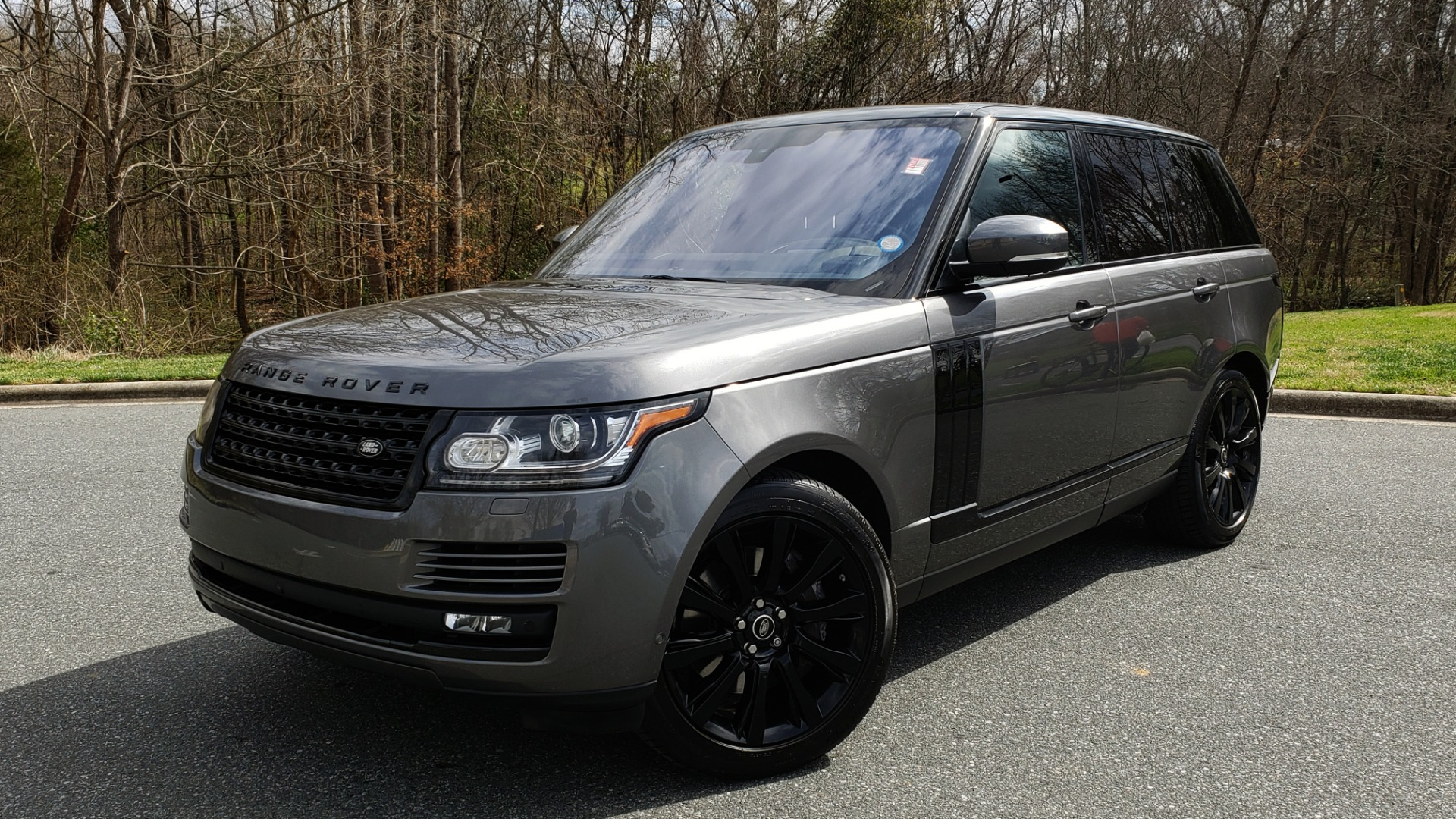 Used 2016 Land Rover RANGE ROVER SUPERCHARGED V8 / NAV / PANO-ROOF / REARVIEW for sale Sold at Formula Imports in Charlotte NC 28227 1
