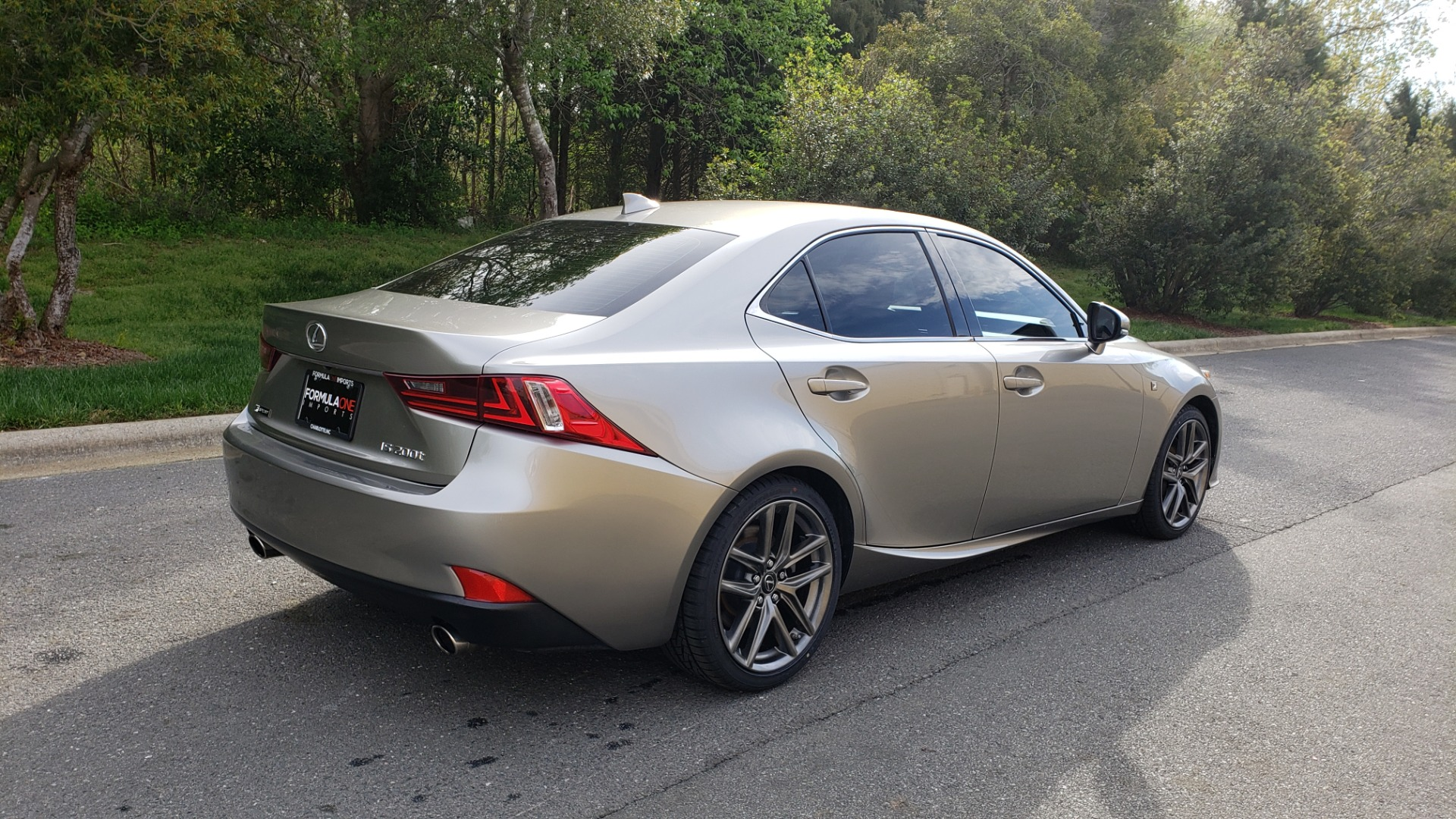 Used 2016 Lexus IS 200T F-SPORT / BSM / SUNROOF / VENTILATED SEATS / REARVIEW for sale Sold at Formula Imports in Charlotte NC 28227 6