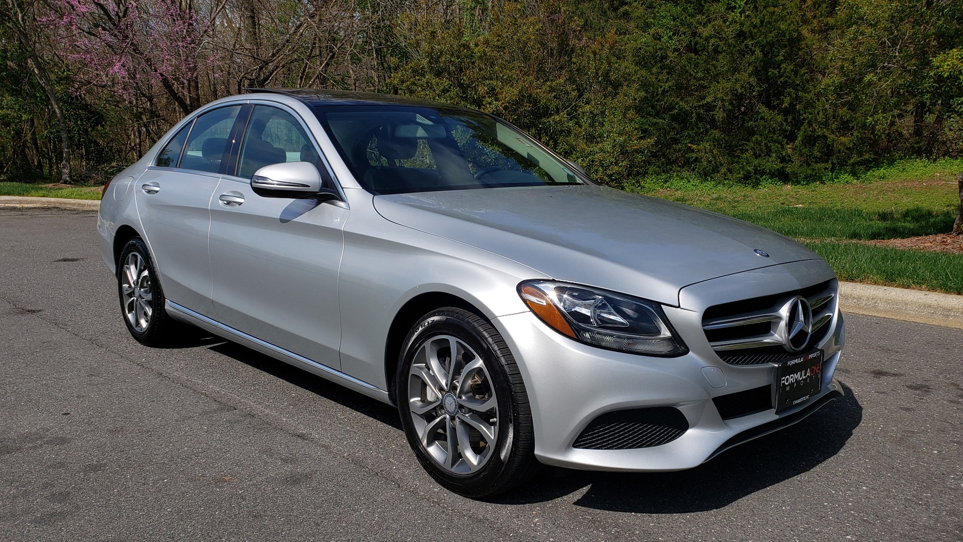 Used 2017 Mercedes-Benz C-CLASS C 300 4MATIC PREMIUM / NAV / PANO-ROOF / REARVIEW for sale Sold at Formula Imports in Charlotte NC 28227 4