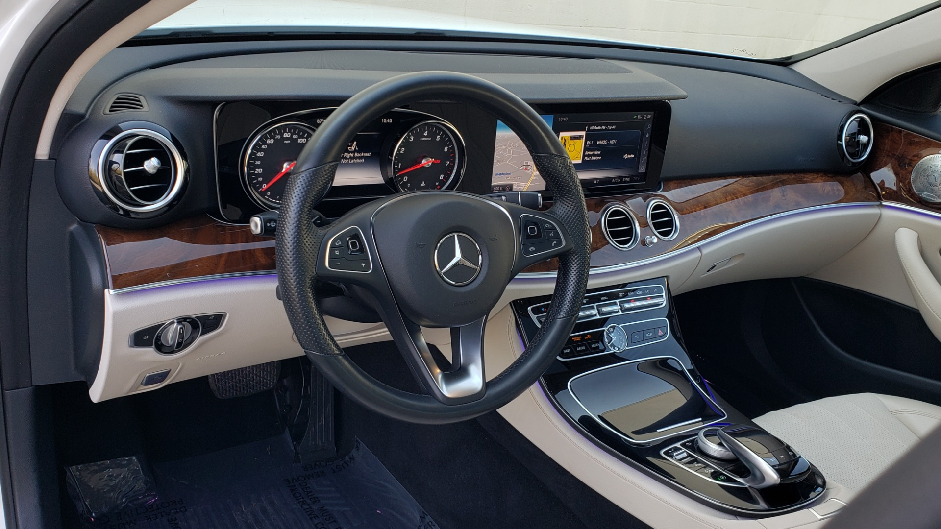 Used 2017 Mercedes-Benz E-Class E 300 PREMIUM / RWD / NAV / SNF / PARKING PILOT / REARVIEW / BURMESTER for sale Sold at Formula Imports in Charlotte NC 28227 32