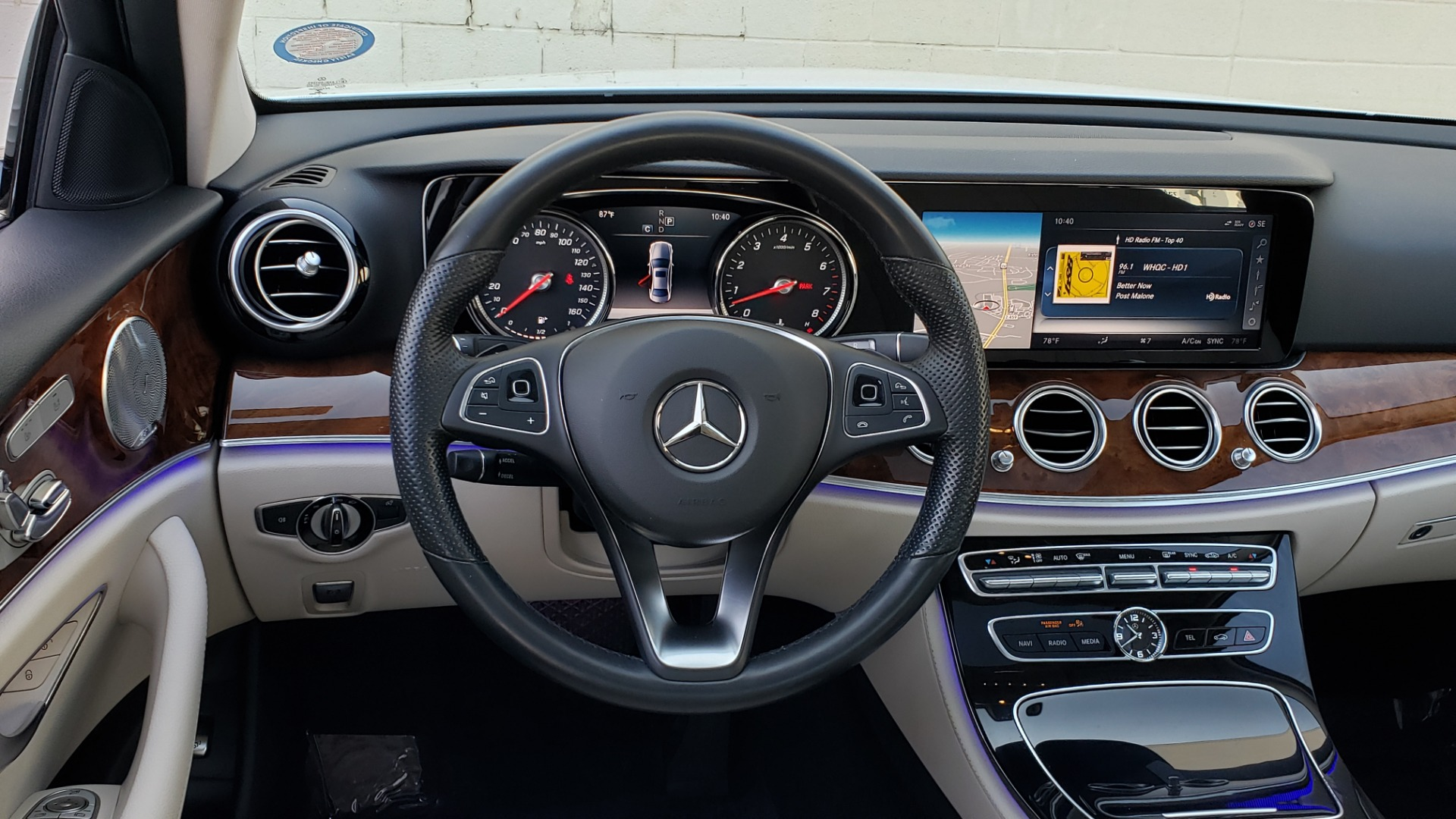 Used 2017 Mercedes-Benz E-Class E 300 PREMIUM / RWD / NAV / SNF / PARKING PILOT / REARVIEW / BURMESTER for sale Sold at Formula Imports in Charlotte NC 28227 33