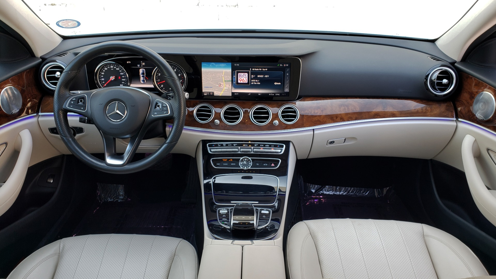 Used 2017 Mercedes-Benz E-Class E 300 PREMIUM / RWD / NAV / SNF / PARKING PILOT / REARVIEW / BURMESTER for sale Sold at Formula Imports in Charlotte NC 28227 69