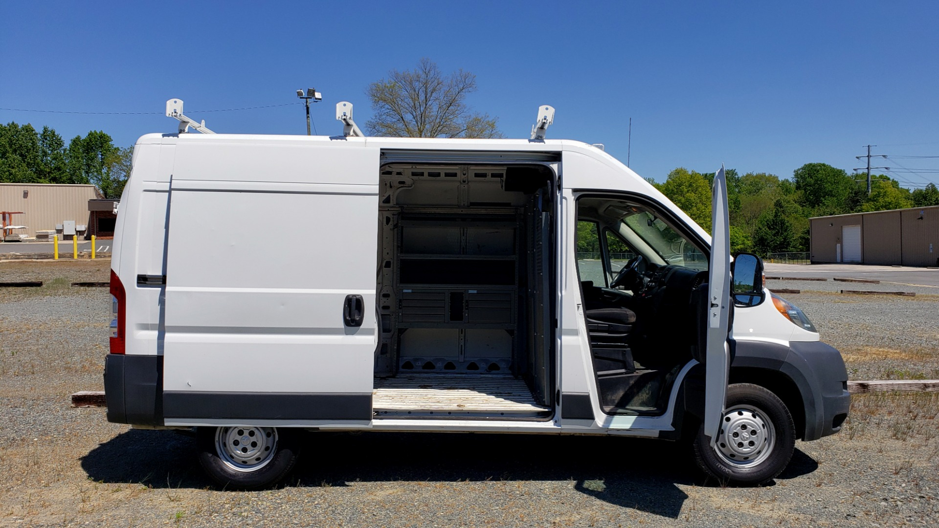 Used 2014 Ram PROMASTER CARGO VAN ROOF RACK / STORAGE for sale $14,000 at Formula Imports in Charlotte NC 28227 15