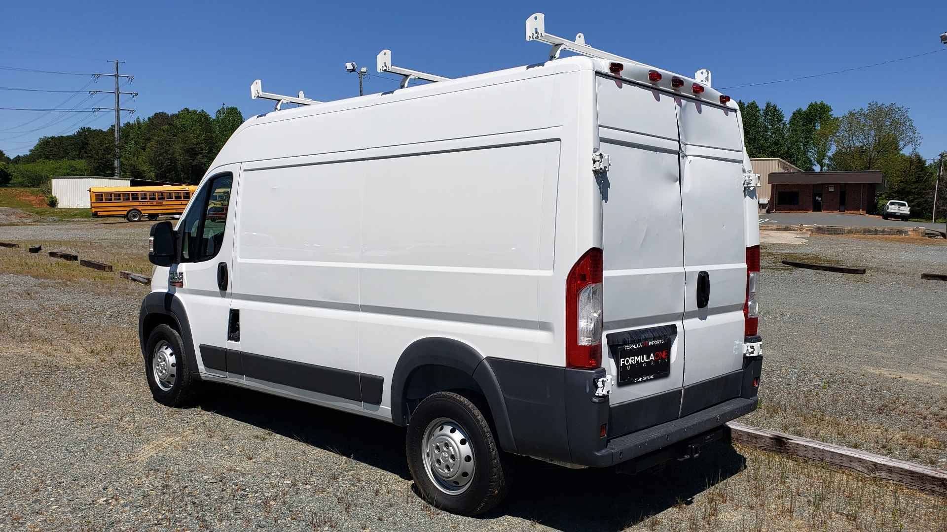 Used 2014 Ram PROMASTER CARGO VAN ROOF RACK / STORAGE for sale Sold at Formula Imports in Charlotte NC 28227 3