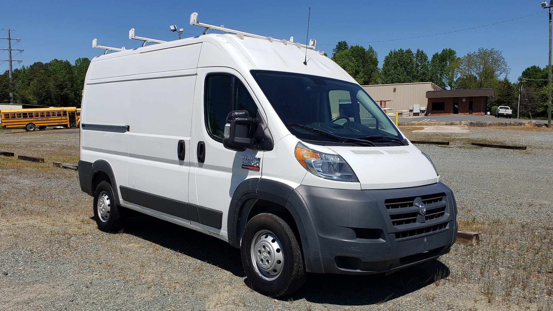 Used 2014 Ram PROMASTER CARGO VAN ROOF RACK / STORAGE for sale Sold at Formula Imports in Charlotte NC 28227 4