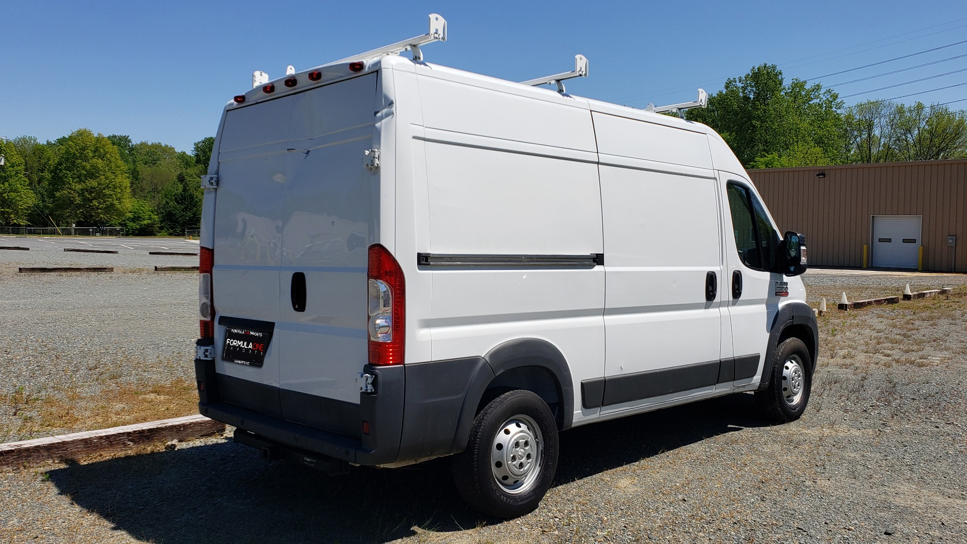 Used 2014 Ram PROMASTER CARGO VAN ROOF RACK / STORAGE for sale Sold at Formula Imports in Charlotte NC 28227 6