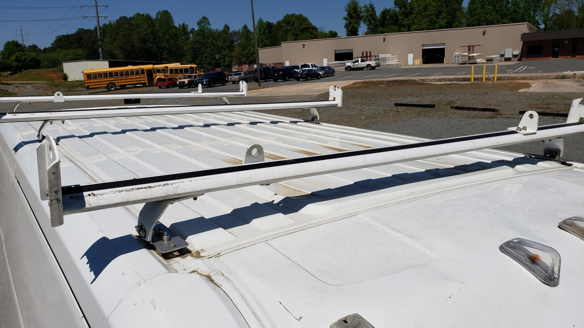 Used 2014 Ram PROMASTER CARGO VAN ROOF RACK / STORAGE for sale Sold at Formula Imports in Charlotte NC 28227 8