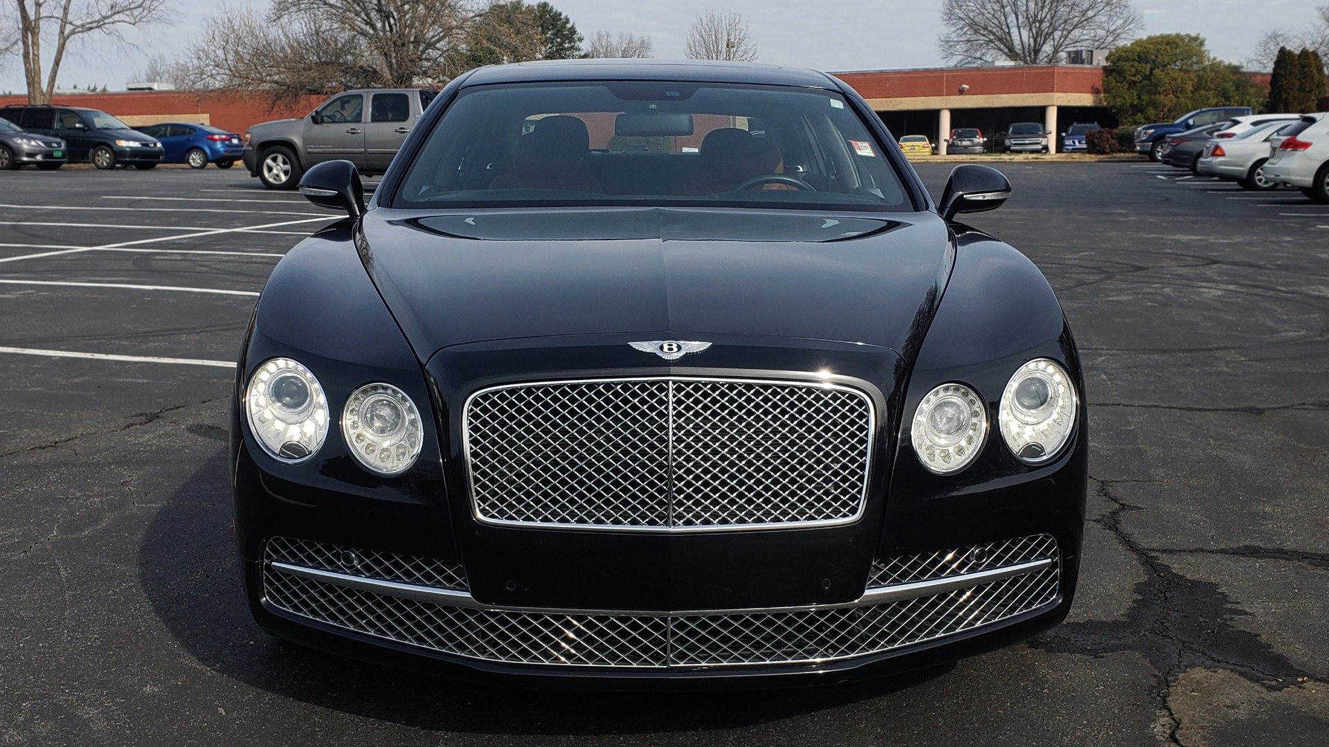Used 2014 Bentley Flying Spur W12 / 8-SPD / AWD / NAV / MULLINER DRIVING SPEC for sale Sold at Formula Imports in Charlotte NC 28227 27
