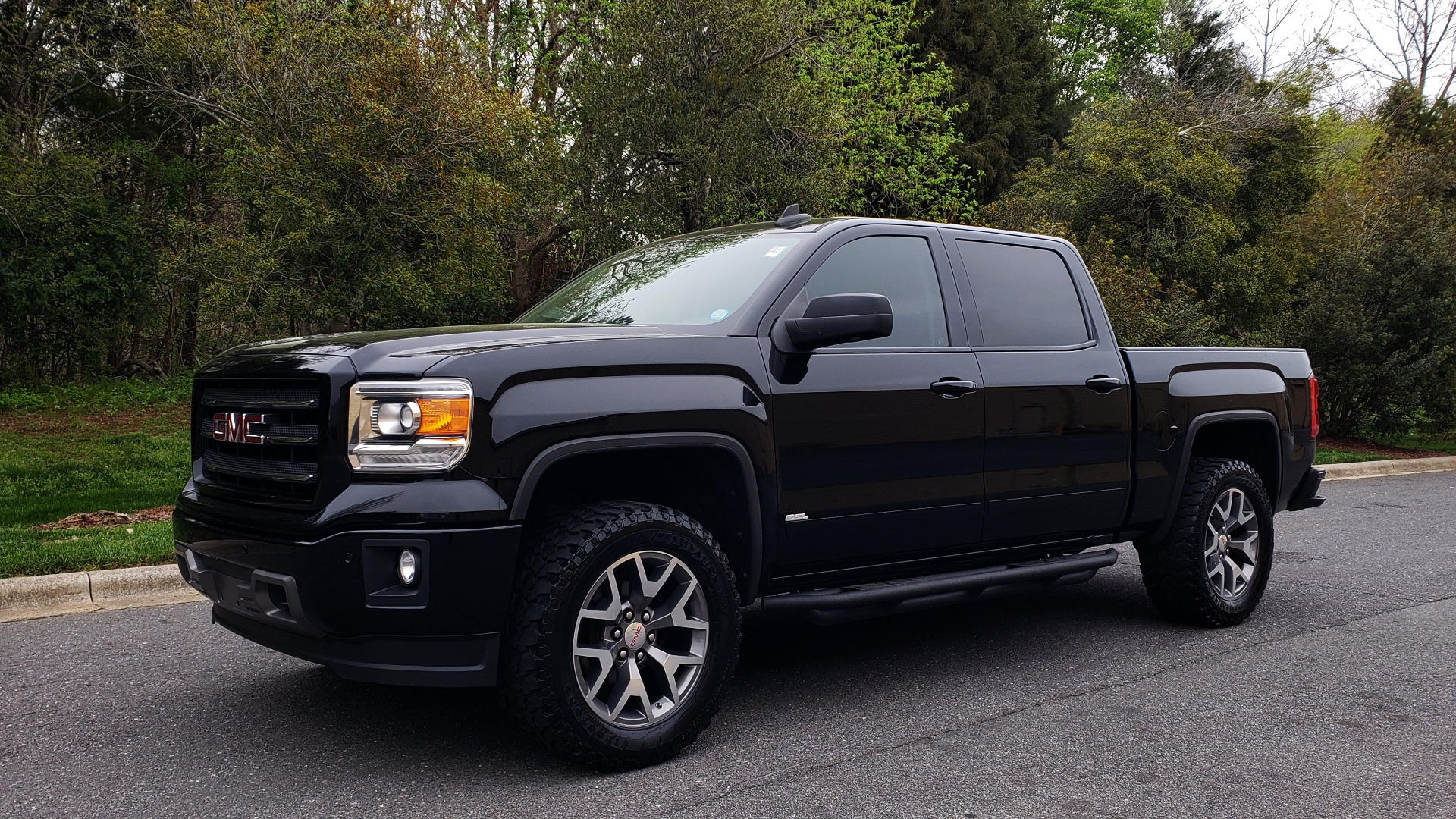 Used 2015 GMC SIERRA 1500 SLT 4WD CREW CAB / 6.2L V8 / NAV / BOSE / REARVIEW for sale Sold at Formula Imports in Charlotte NC 28227 1