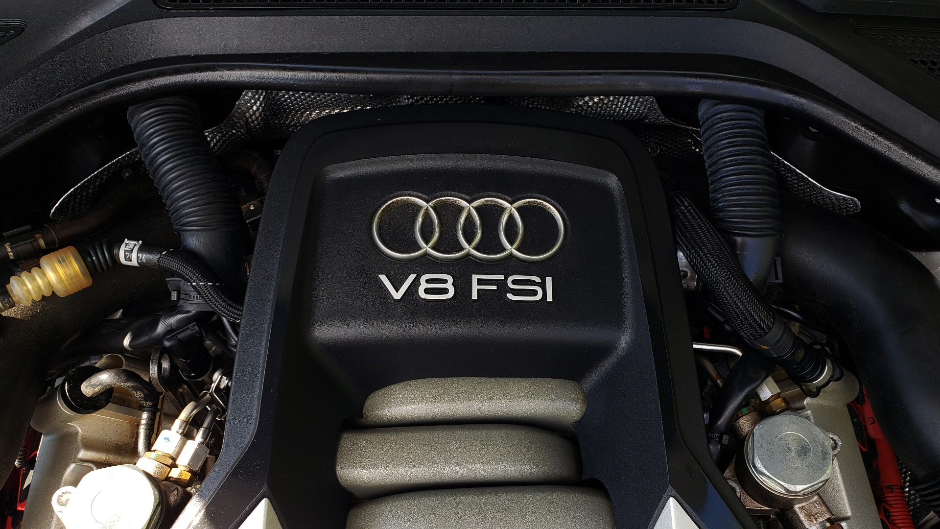 Used 2011 Audi A8 L QUATTRO / NAV / PANO-ROOF / REARVIEW / BSM / B&O SND for sale Sold at Formula Imports in Charlotte NC 28227 14