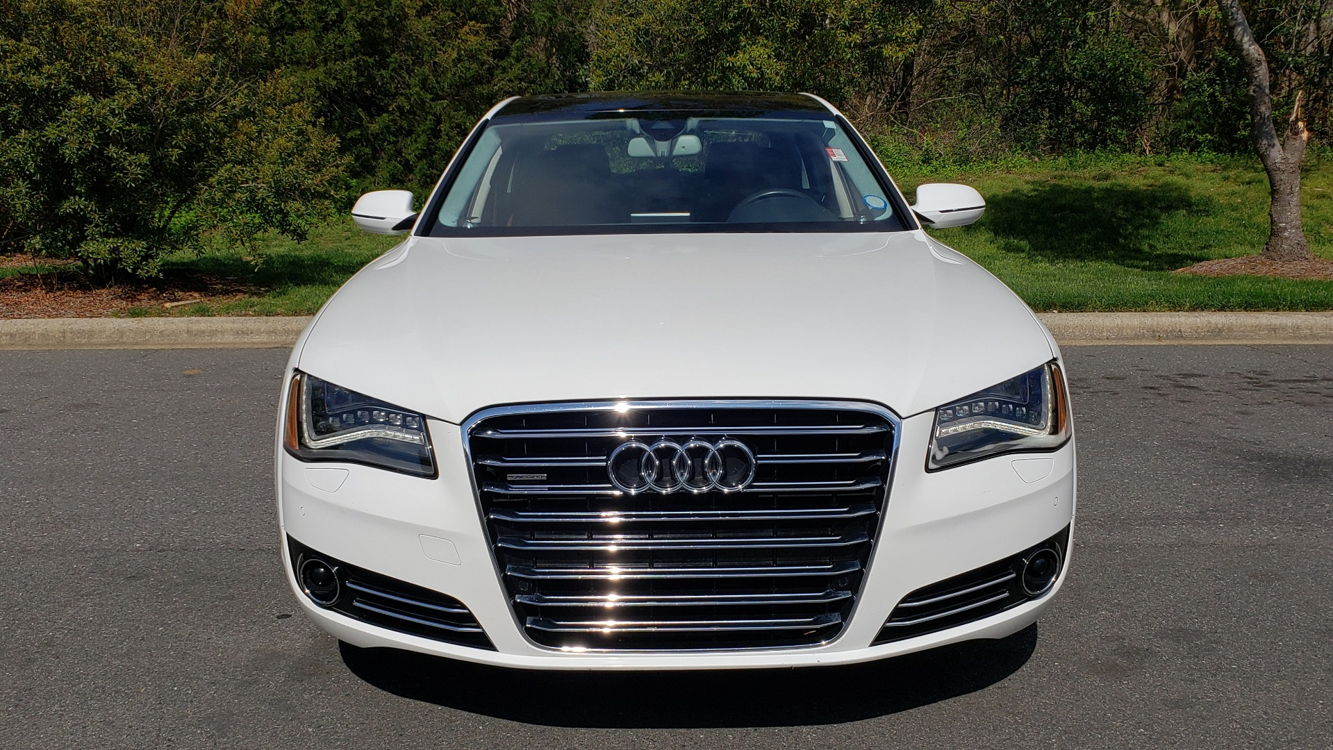 Used 2011 Audi A8 L QUATTRO / NAV / PANO-ROOF / REARVIEW / BSM / B&O SND for sale Sold at Formula Imports in Charlotte NC 28227 21