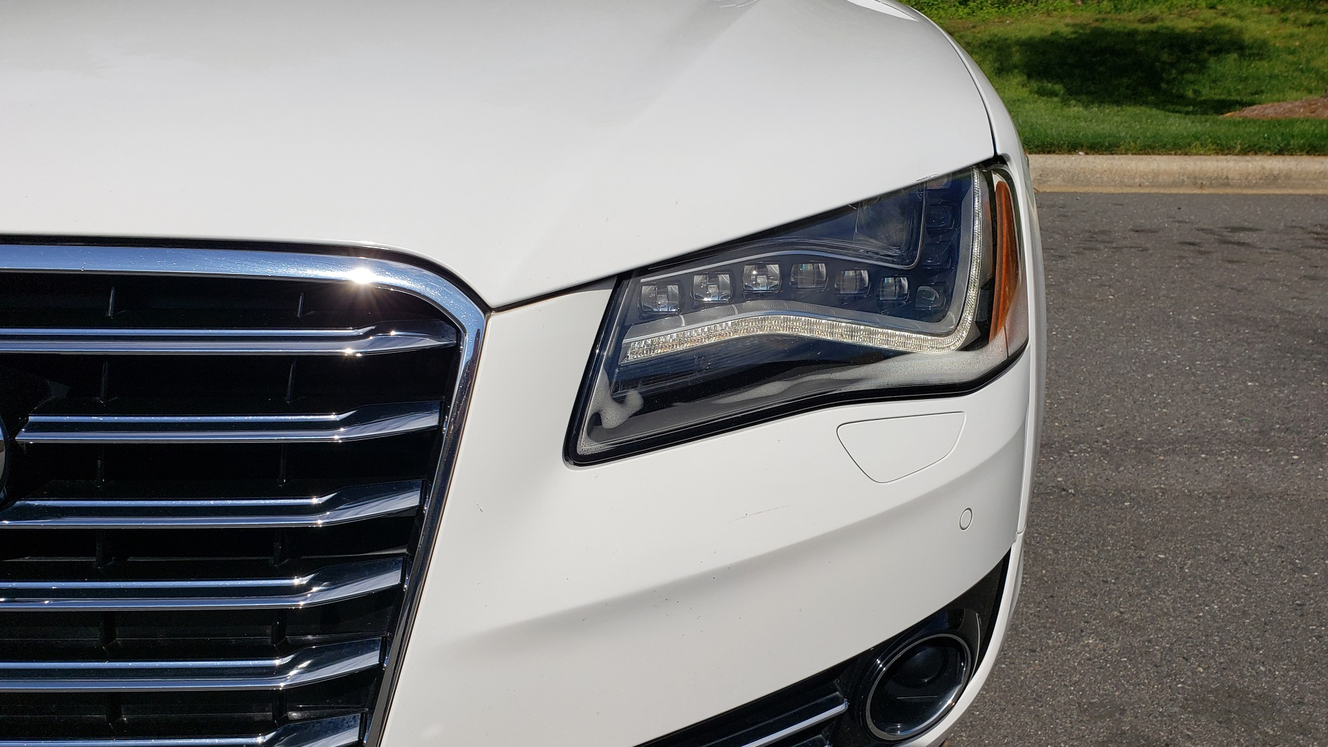 Used 2011 Audi A8 L QUATTRO / NAV / PANO-ROOF / REARVIEW / BSM / B&O SND for sale Sold at Formula Imports in Charlotte NC 28227 23