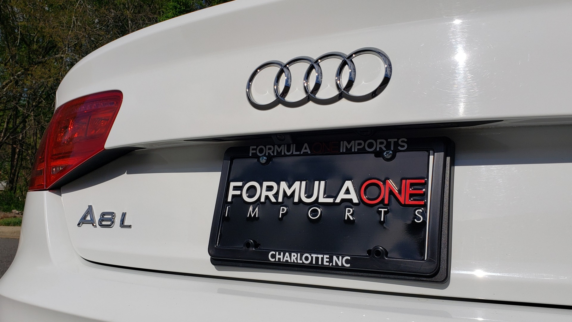 Used 2011 Audi A8 L QUATTRO / NAV / PANO-ROOF / REARVIEW / BSM / B&O SND for sale Sold at Formula Imports in Charlotte NC 28227 31