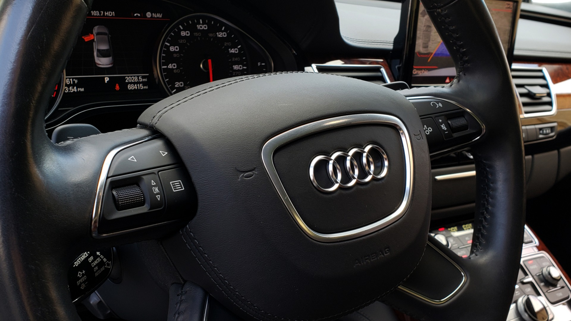 Used 2011 Audi A8 L QUATTRO / NAV / PANO-ROOF / REARVIEW / BSM / B&O SND for sale Sold at Formula Imports in Charlotte NC 28227 43
