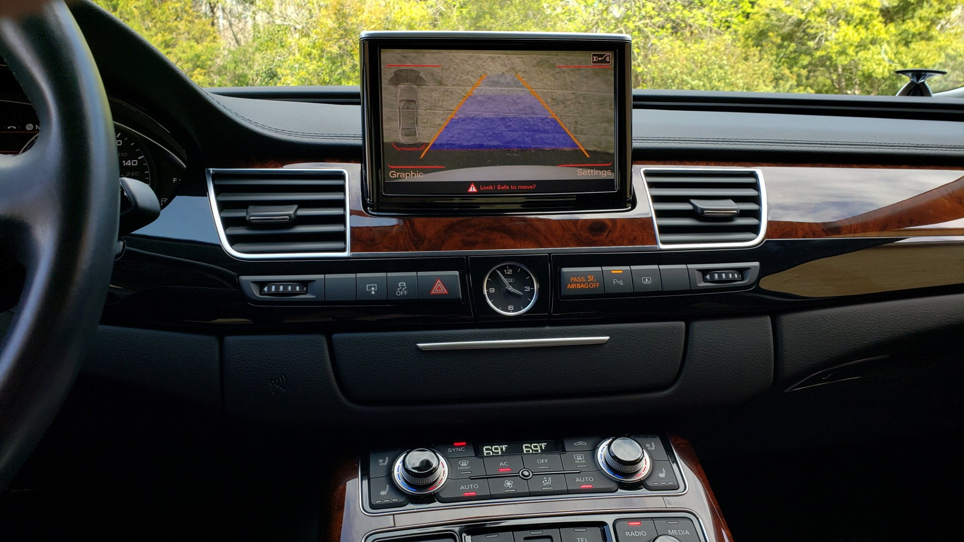 Used 2011 Audi A8 L QUATTRO / NAV / PANO-ROOF / REARVIEW / BSM / B&O SND for sale Sold at Formula Imports in Charlotte NC 28227 48