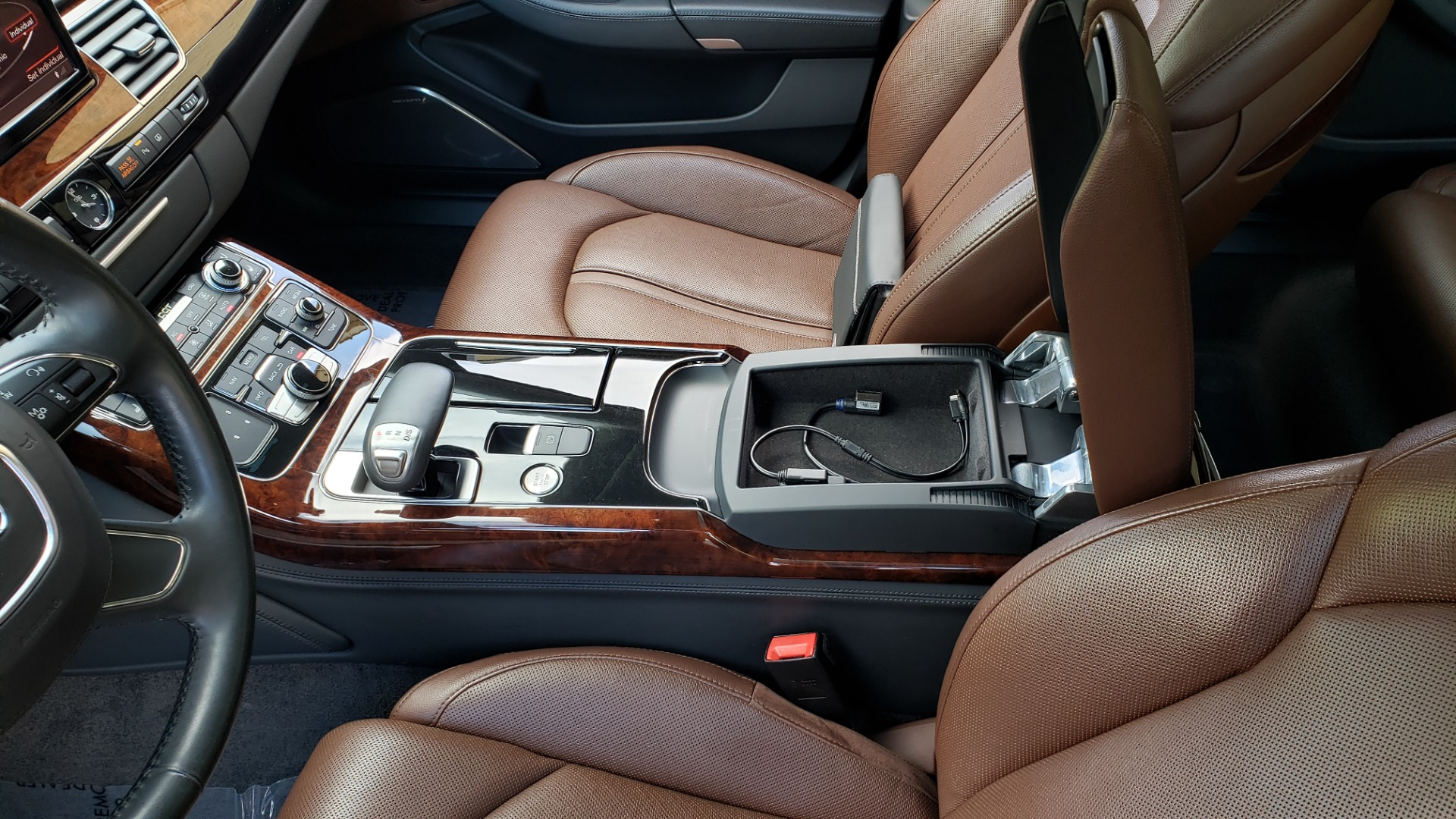 Used 2011 Audi A8 L QUATTRO / NAV / PANO-ROOF / REARVIEW / BSM / B&O SND for sale Sold at Formula Imports in Charlotte NC 28227 61