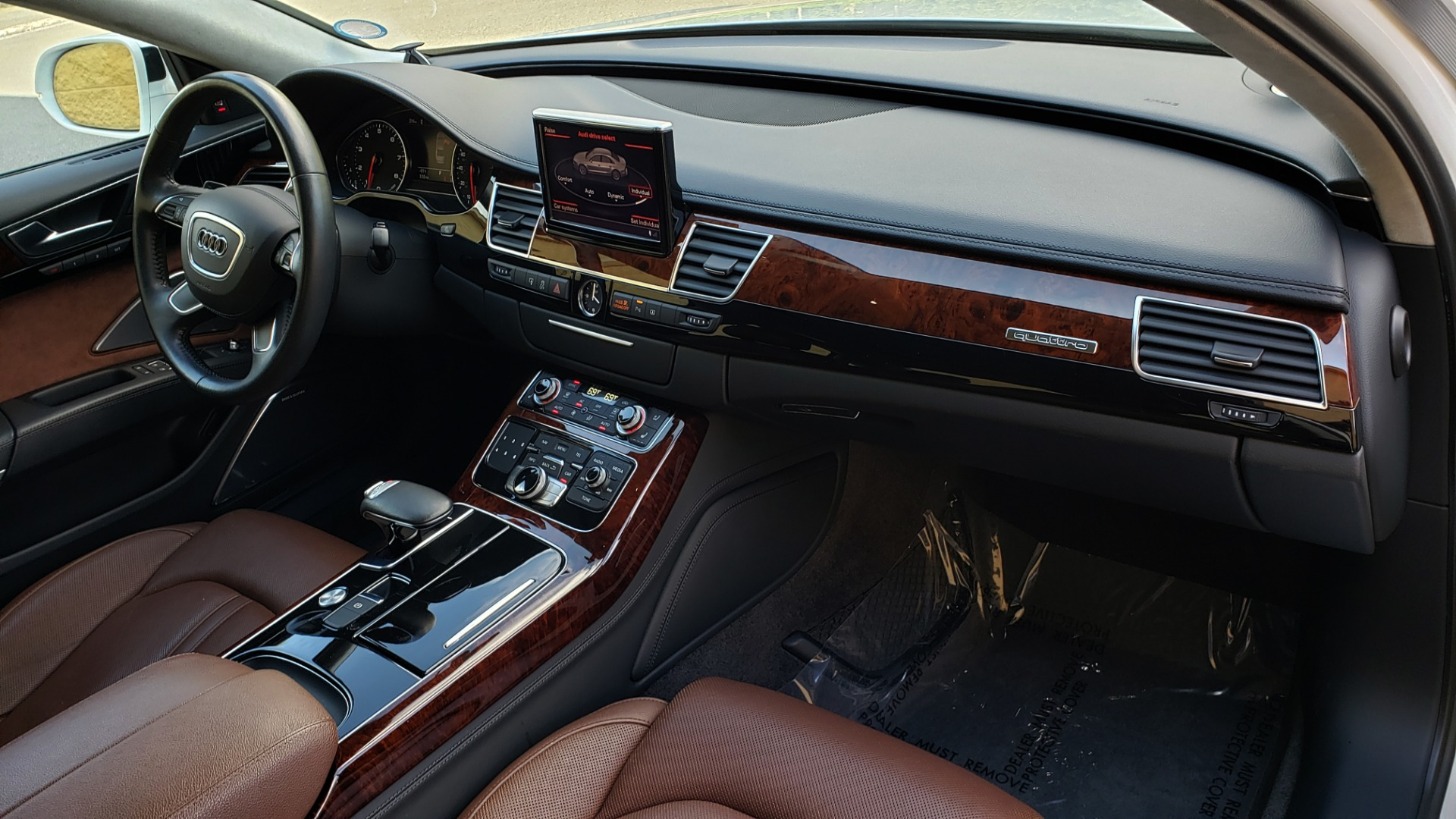 Used 2011 Audi A8 L QUATTRO / NAV / PANO-ROOF / REARVIEW / BSM / B&O SND for sale Sold at Formula Imports in Charlotte NC 28227 75