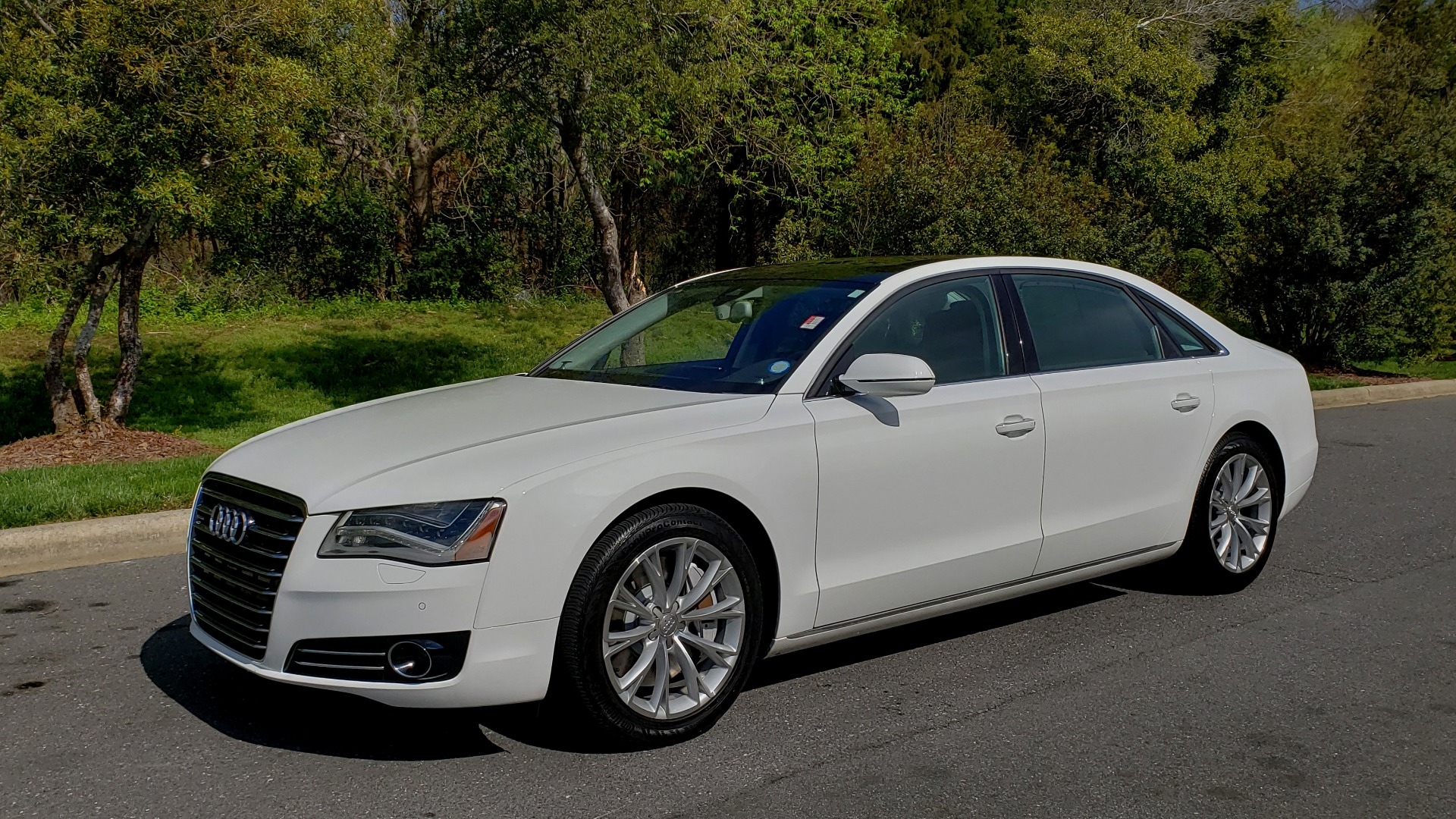 Used 2011 Audi A8 L QUATTRO / NAV / PANO-ROOF / REARVIEW / BSM / B&O SND for sale Sold at Formula Imports in Charlotte NC 28227 1