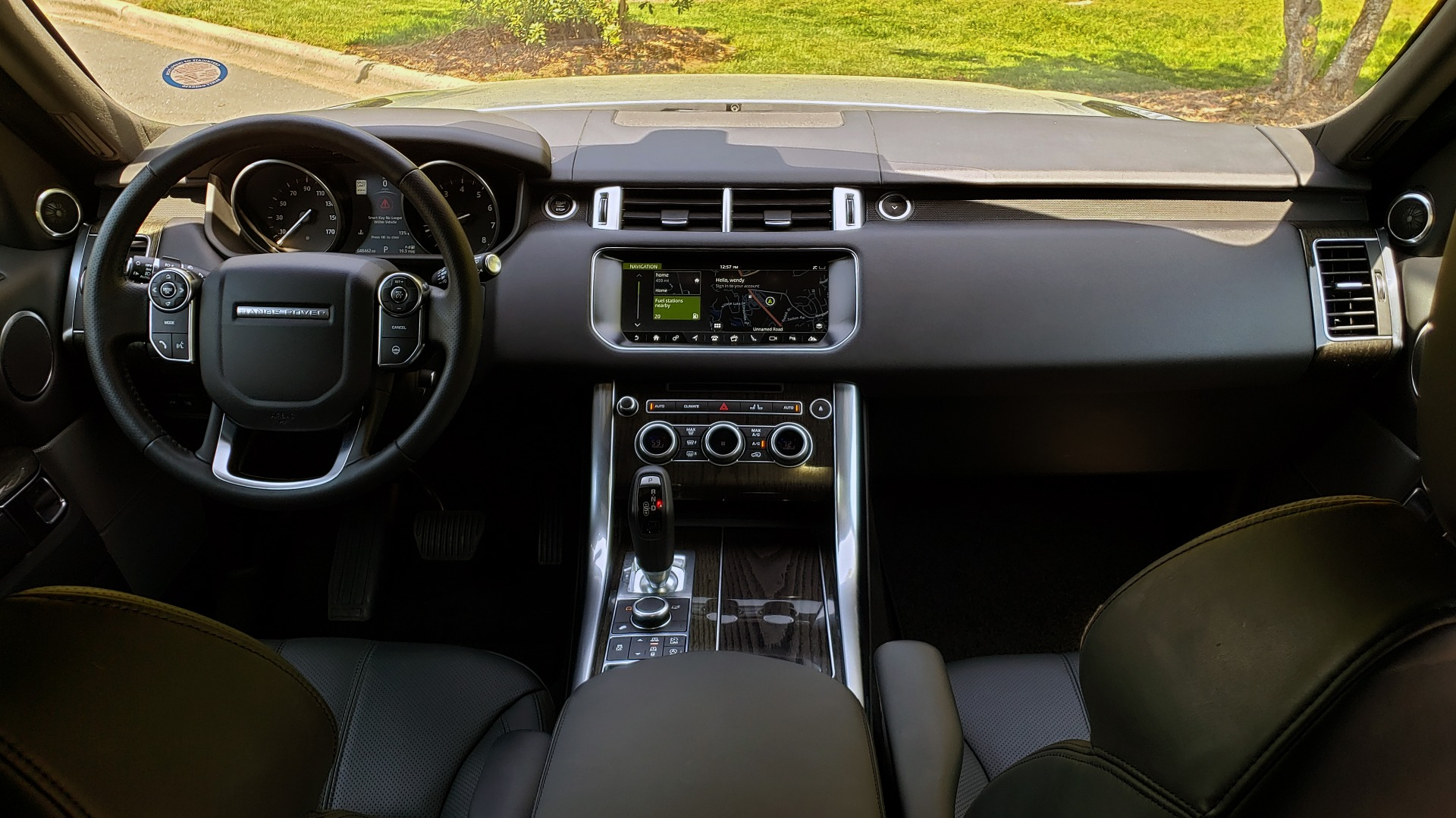 Used 2017 Land Rover RANGE ROVER SPORT HSE / SC V6 / 4X4 / NAV / PANO-ROOF / REARVIEW for sale $43,995 at Formula Imports in Charlotte NC 28227 78