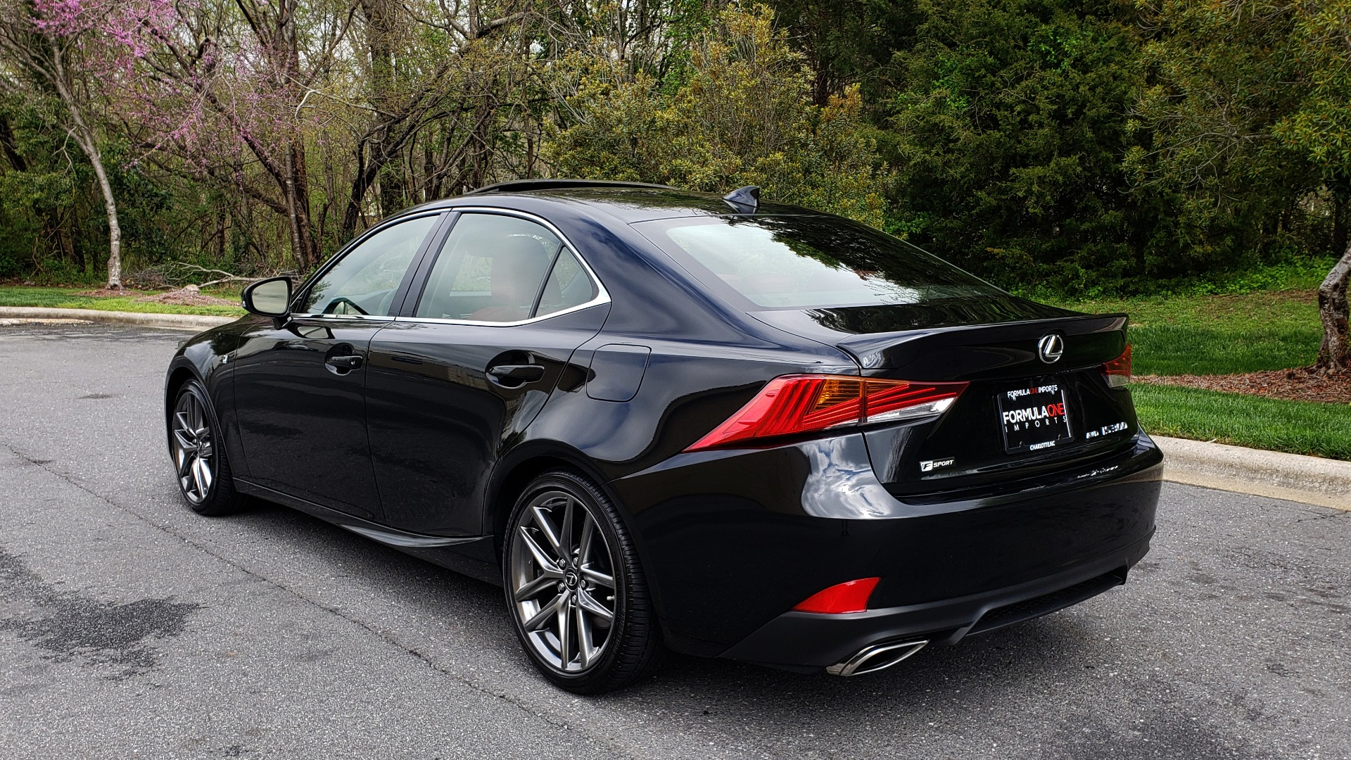 Used 2017 Lexus IS 300 F SPORT AWD / NAV / SUNROOF / REARVIEW / VENT SEATS / BSM for sale Sold at Formula Imports in Charlotte NC 28227 3