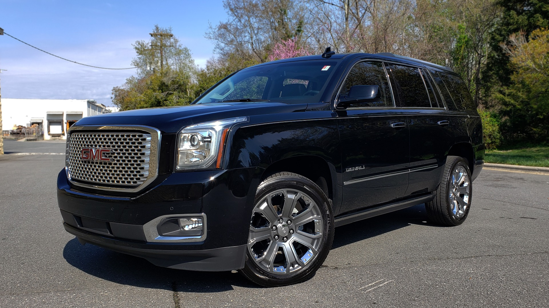 Used 2016 GMC YUKON DENALI 4WD / OPEN ROAD / NAV / ENTERTAINMENT / 3-ROW for sale Sold at Formula Imports in Charlotte NC 28227 1