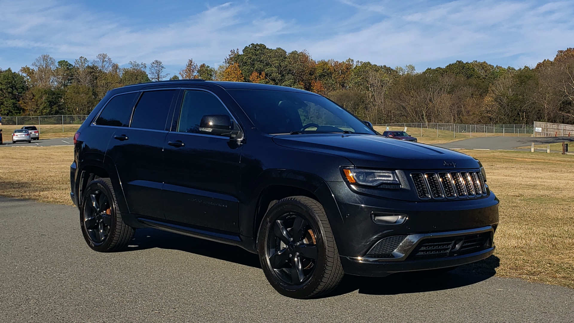 Used 2015 Jeep GRAND CHEROKEE HIGH ALTITUDE / NAV / SUNROOF / REARVIEW / TOW PKG for sale Sold at Formula Imports in Charlotte NC 28227 11