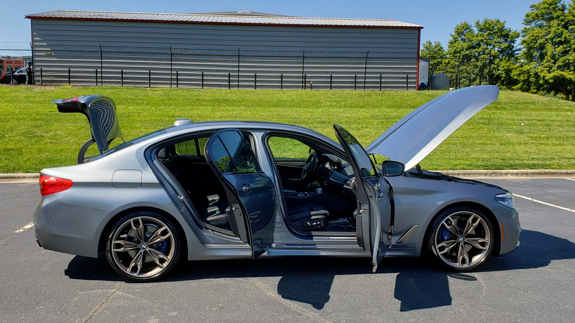 Used 2018 BMW 5 SERIES M550I XDRIVE / EXEC PKG / LUX / DRVR ASST / CLD WTHR / ACTIVE DR for sale Sold at Formula Imports in Charlotte NC 28227 11