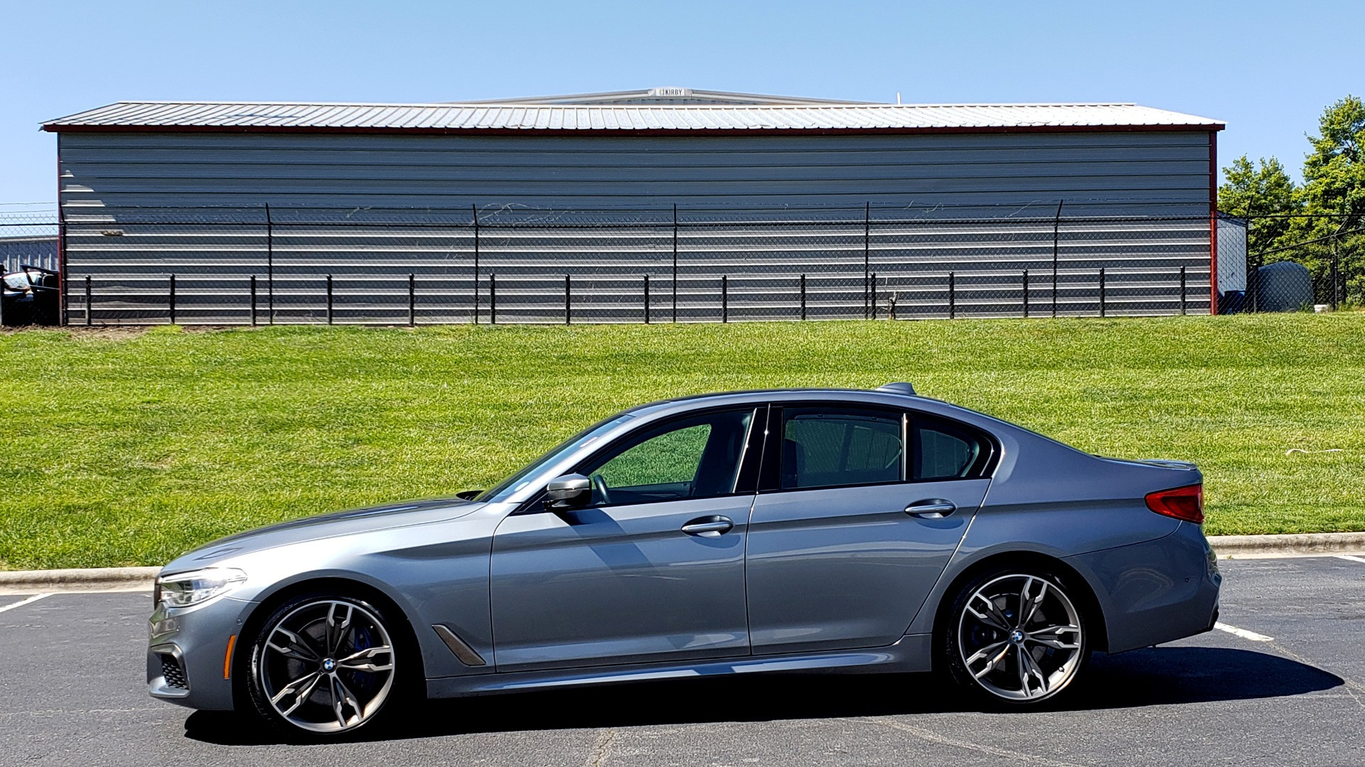 Used 2018 BMW 5 SERIES M550I XDRIVE / EXEC PKG / LUX / DRVR ASST / CLD WTHR / ACTIVE DR for sale Sold at Formula Imports in Charlotte NC 28227 2